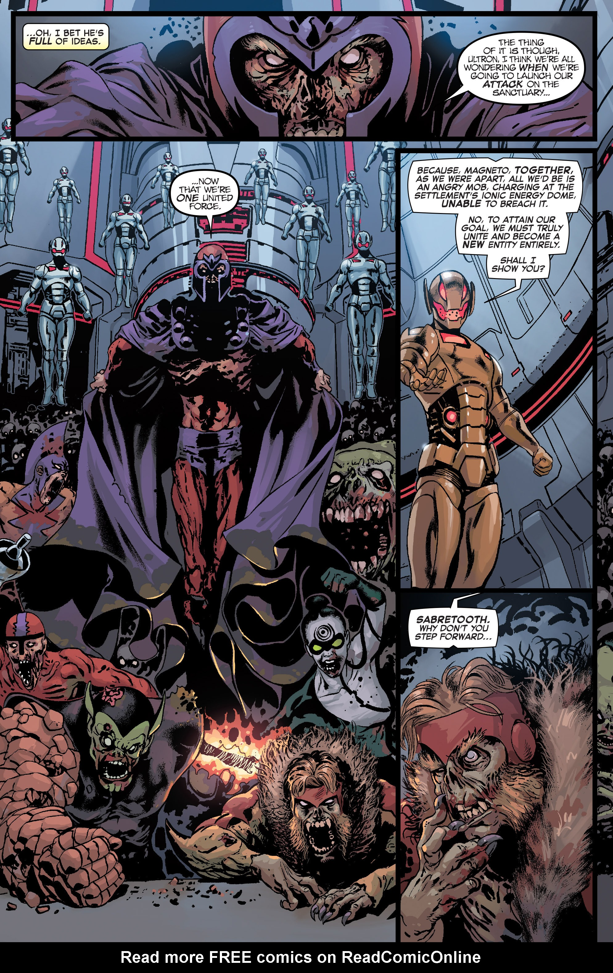 Read online Age of Ultron Vs. Marvel Zombies comic -  Issue #3 - 5