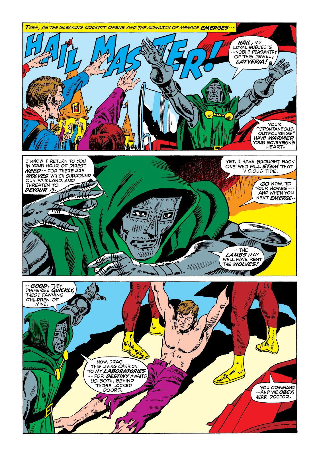 Read online Marvel Masterworks: The Incredible Hulk comic -  Issue # TPB 7 (Part 3) - 3