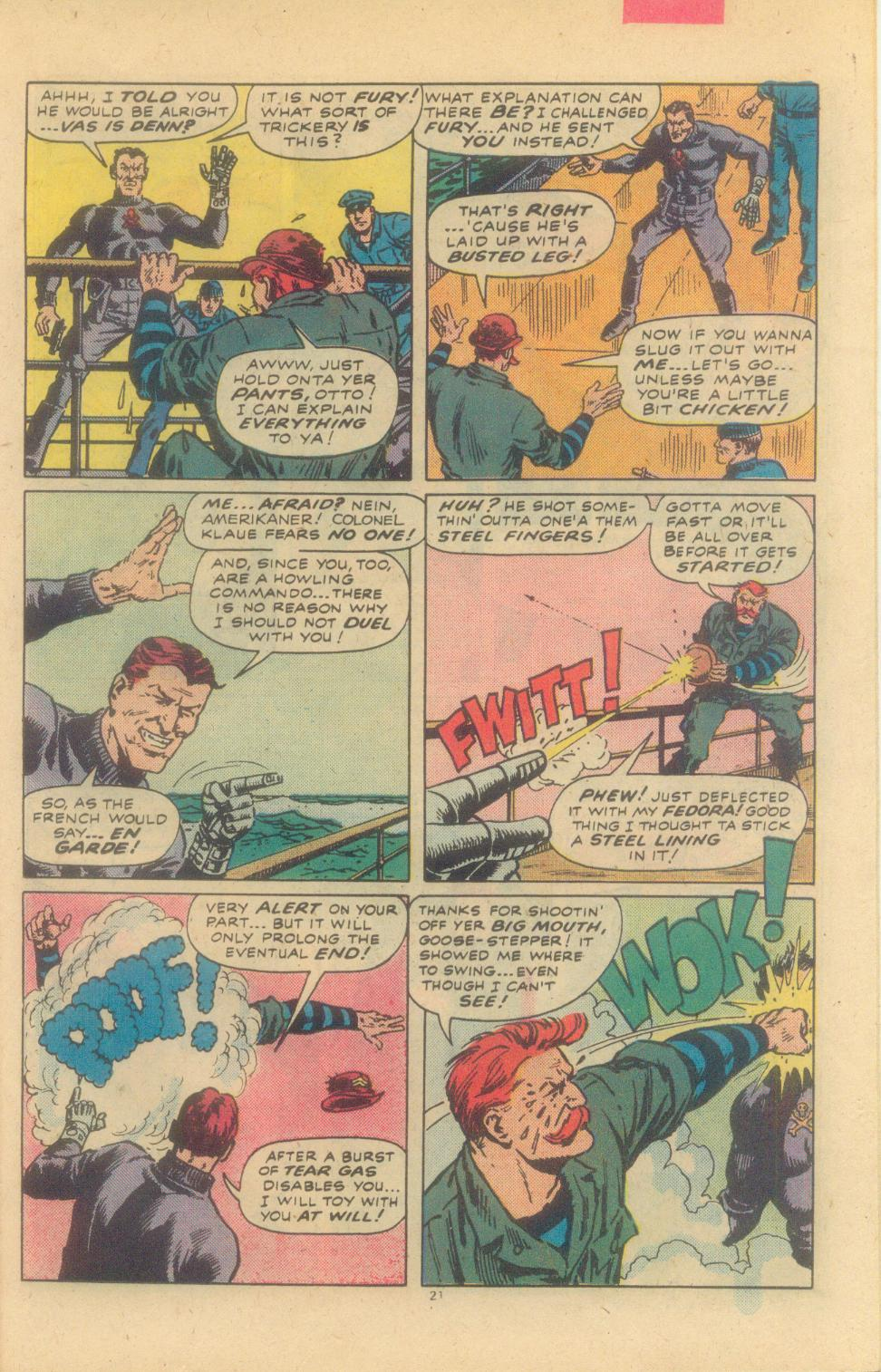 Read online Sgt. Fury comic -  Issue #155 - 23