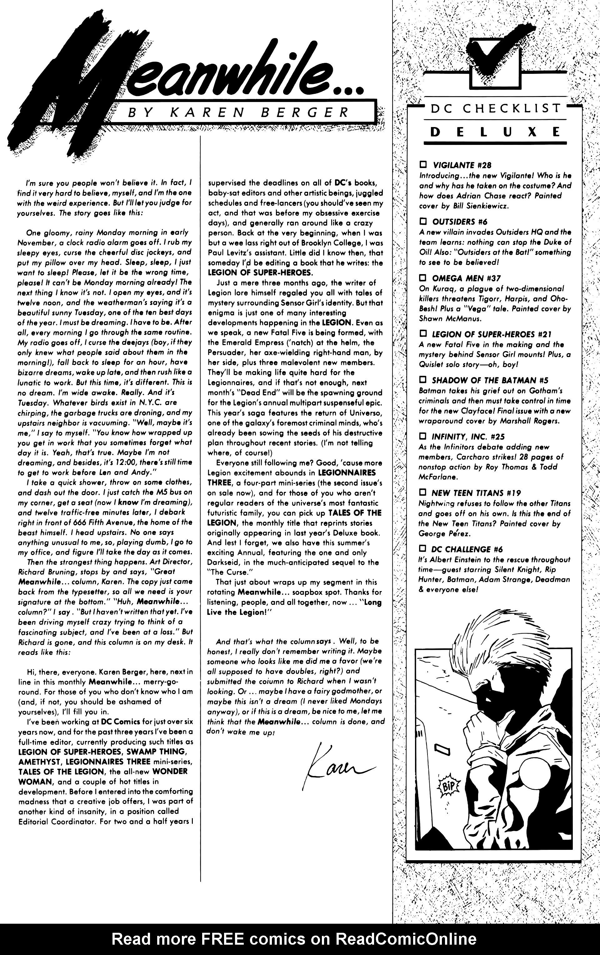 Legion of Super-Heroes (1984) 21 Page 33