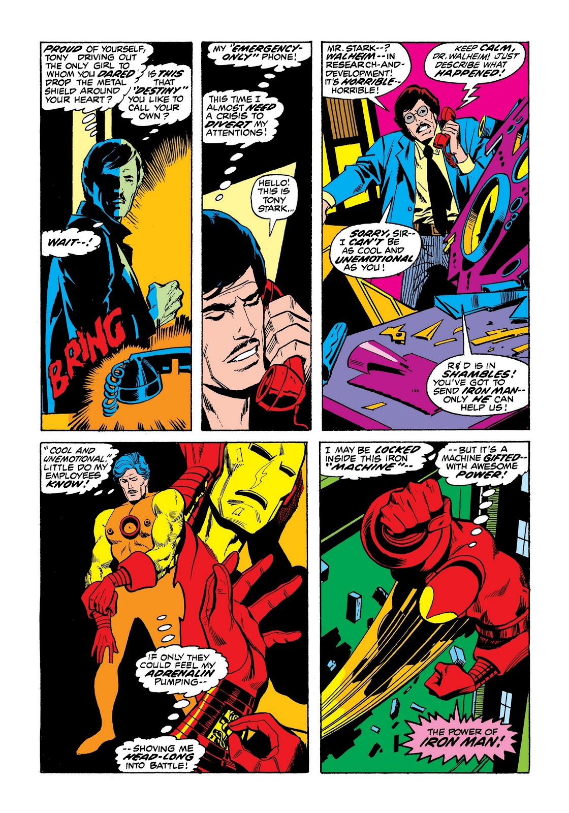 Read online Marvel Masterworks: The Invincible Iron Man comic -  Issue # TPB 8 (Part 3) - 62