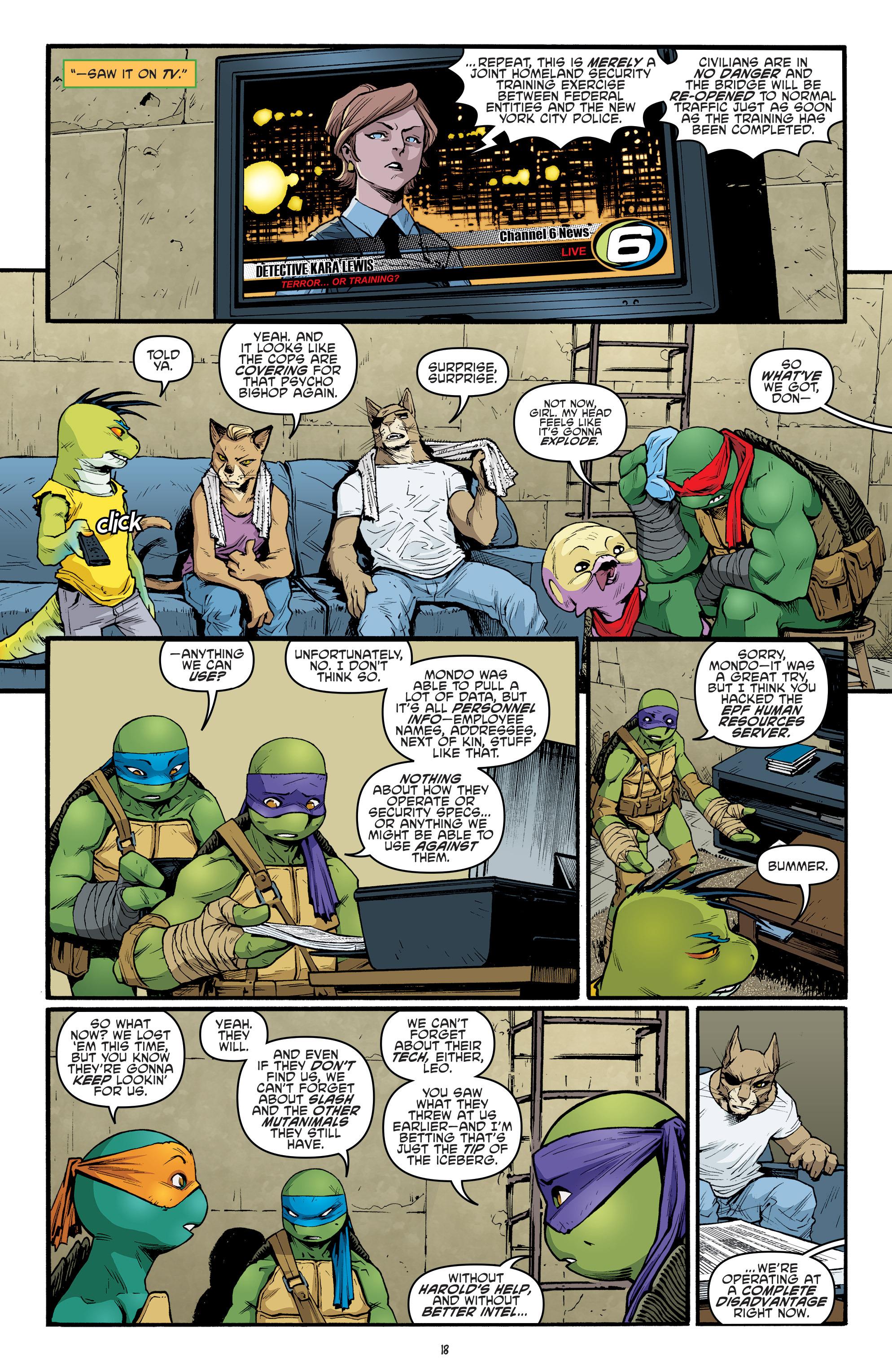 Read online Teenage Mutant Ninja Turtles (2011) comic -  Issue #69 - 20