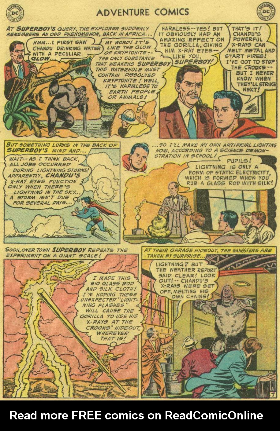 Read online Adventure Comics (1938) comic -  Issue #219 - 9