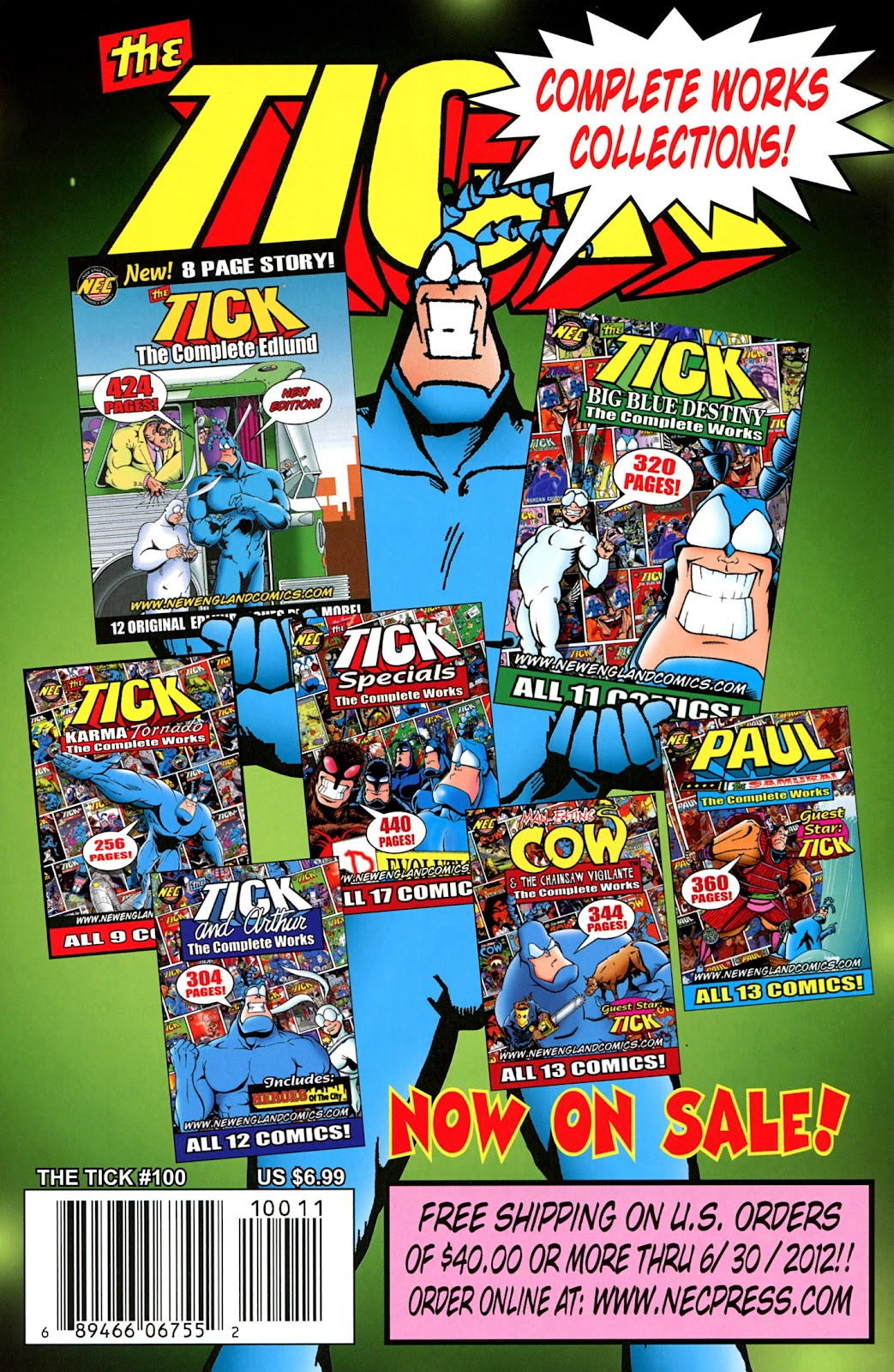 Read online The Tick comic -  Issue #100 - 50