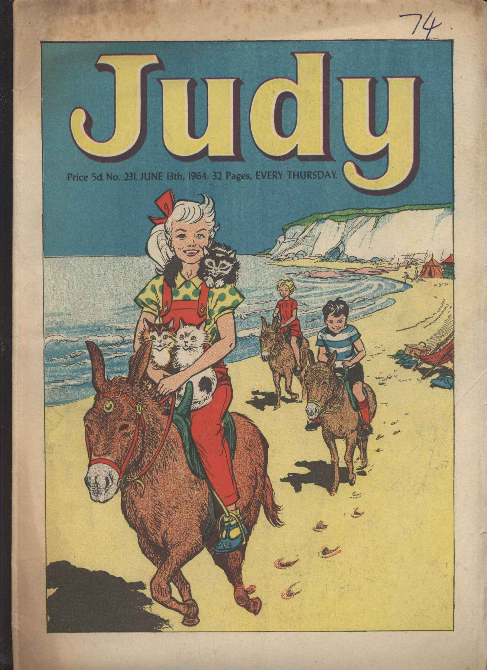 Read online Judy comic -  Issue #231 - 1