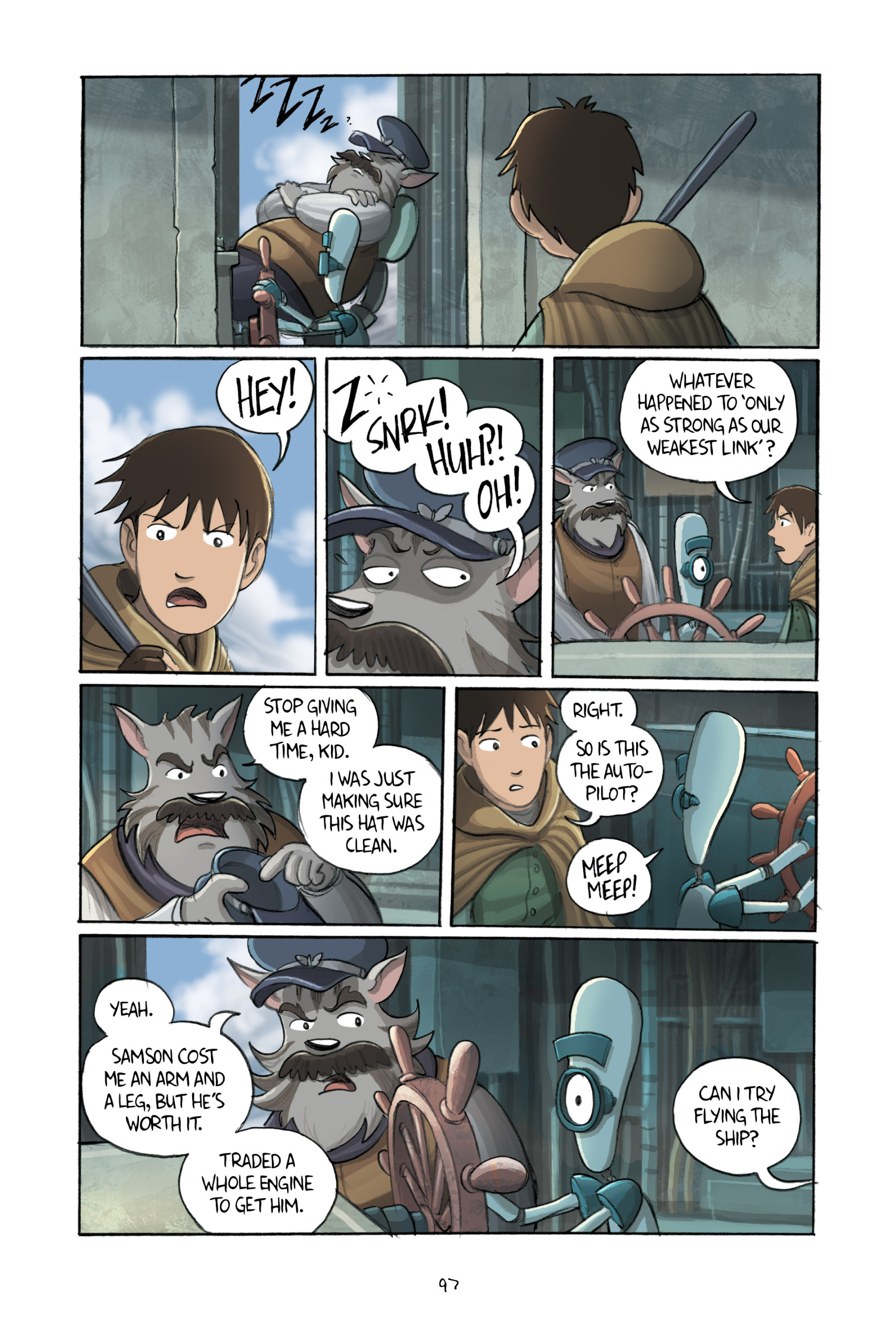 Read online Amulet comic -  Issue #3 - 95