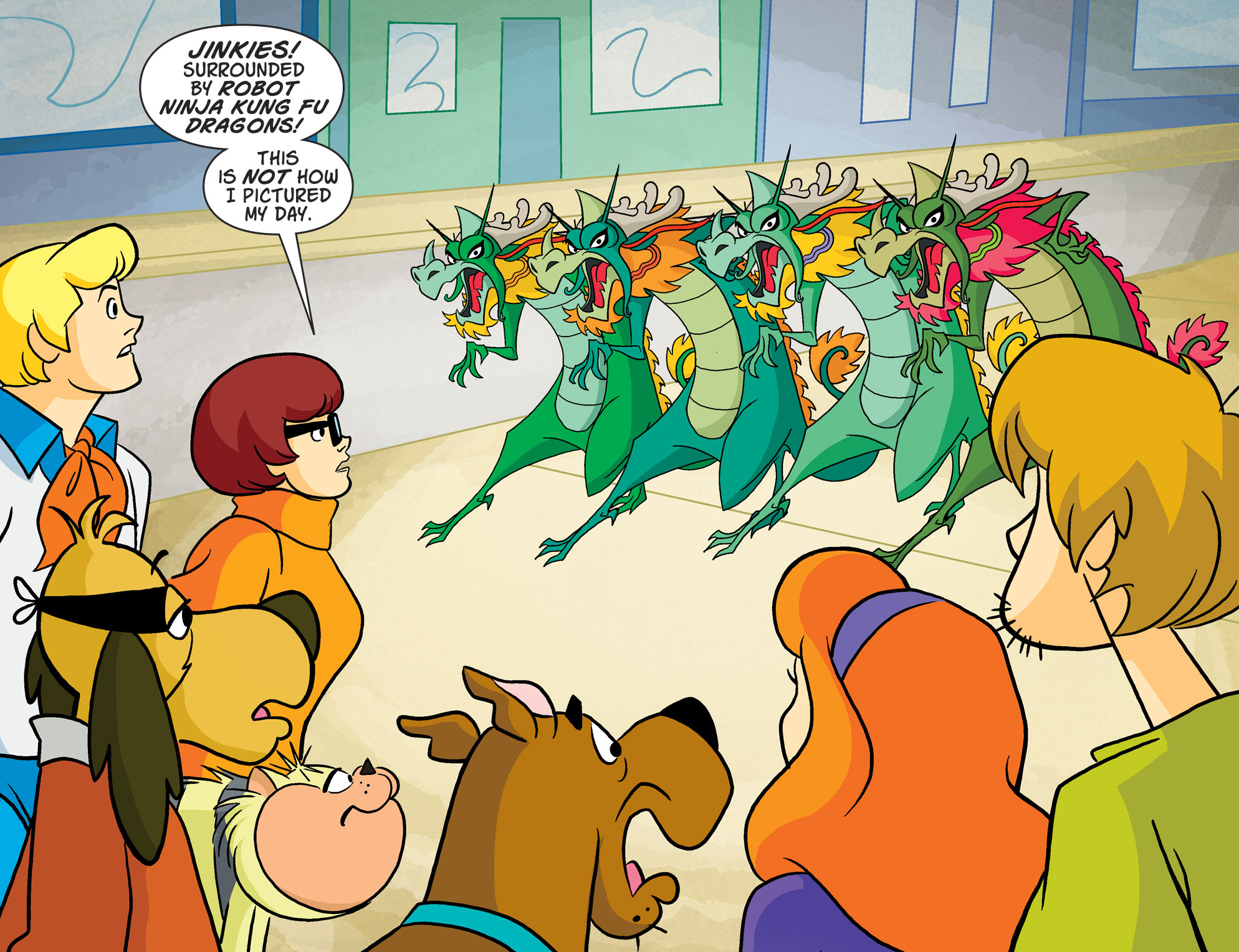 Read online Scooby-Doo! Team-Up comic -  Issue #52 - 4