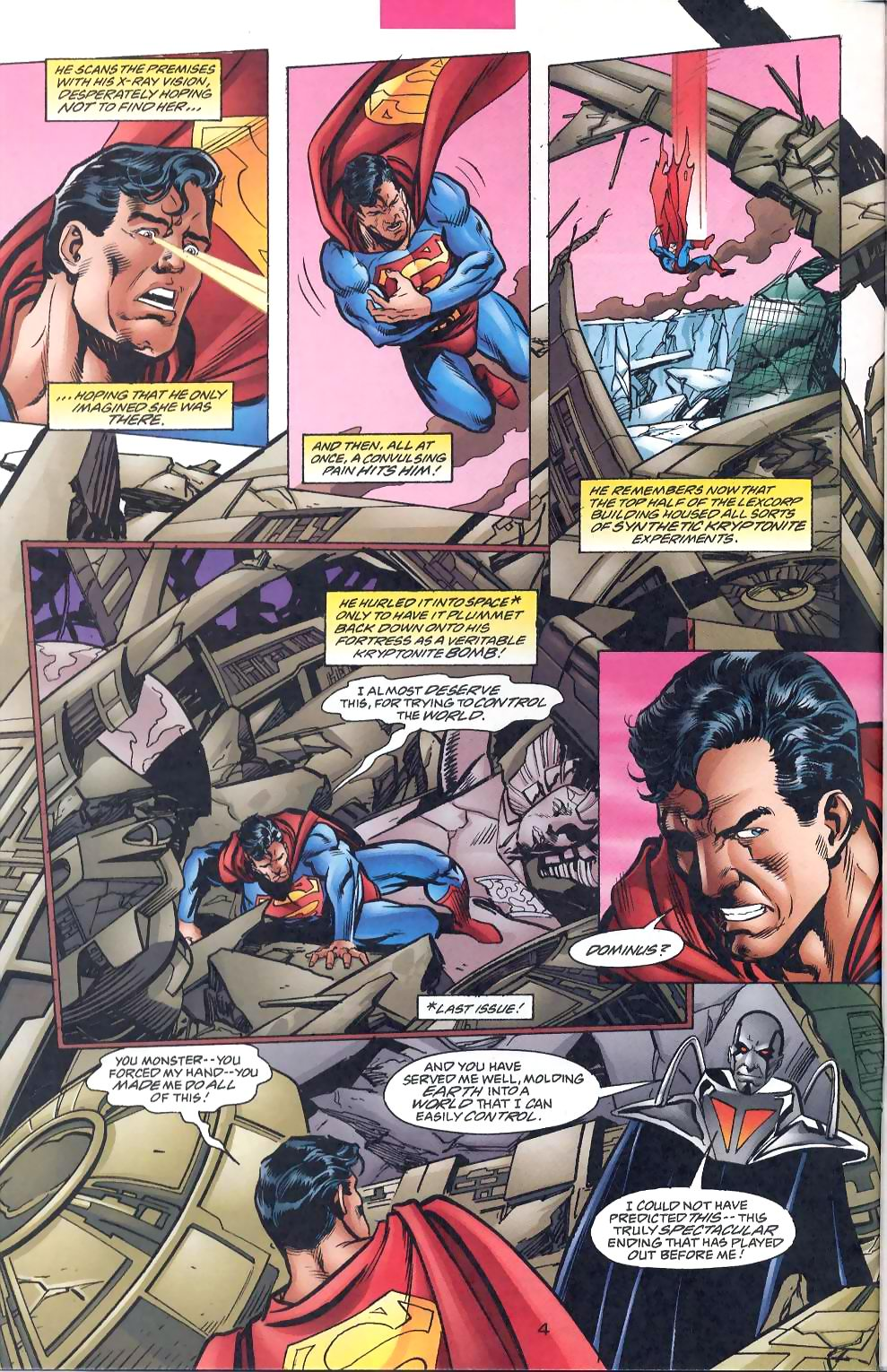 Read online Adventures of Superman (1987) comic -  Issue #567 - 6