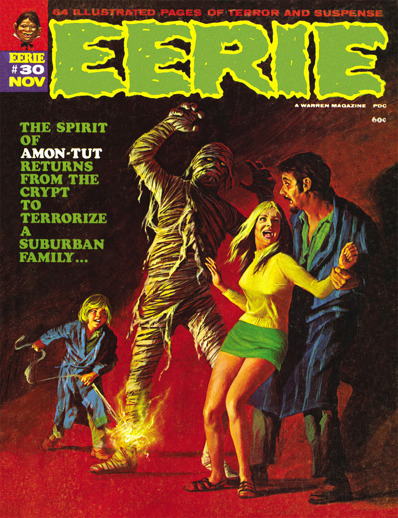 Read online Eerie Archives comic -  Issue # TPB 6 - 127