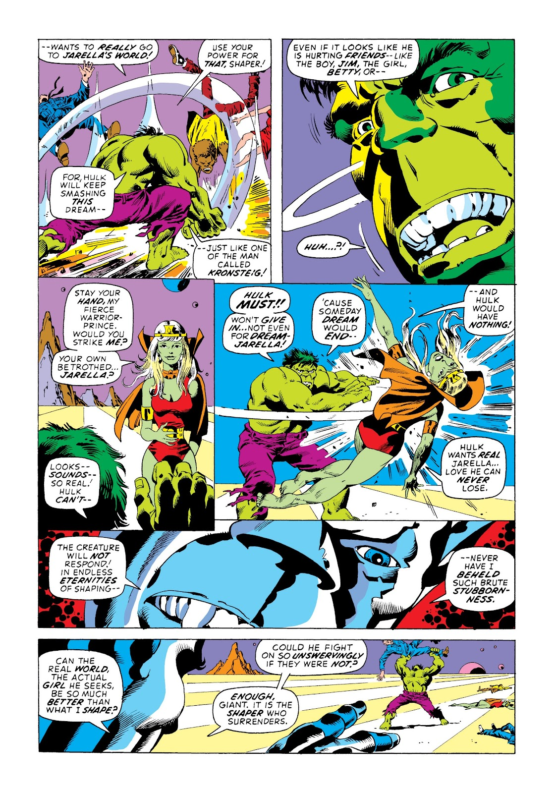 Read online Marvel Masterworks: The Incredible Hulk comic -  Issue # TPB 8 (Part 3) - 59