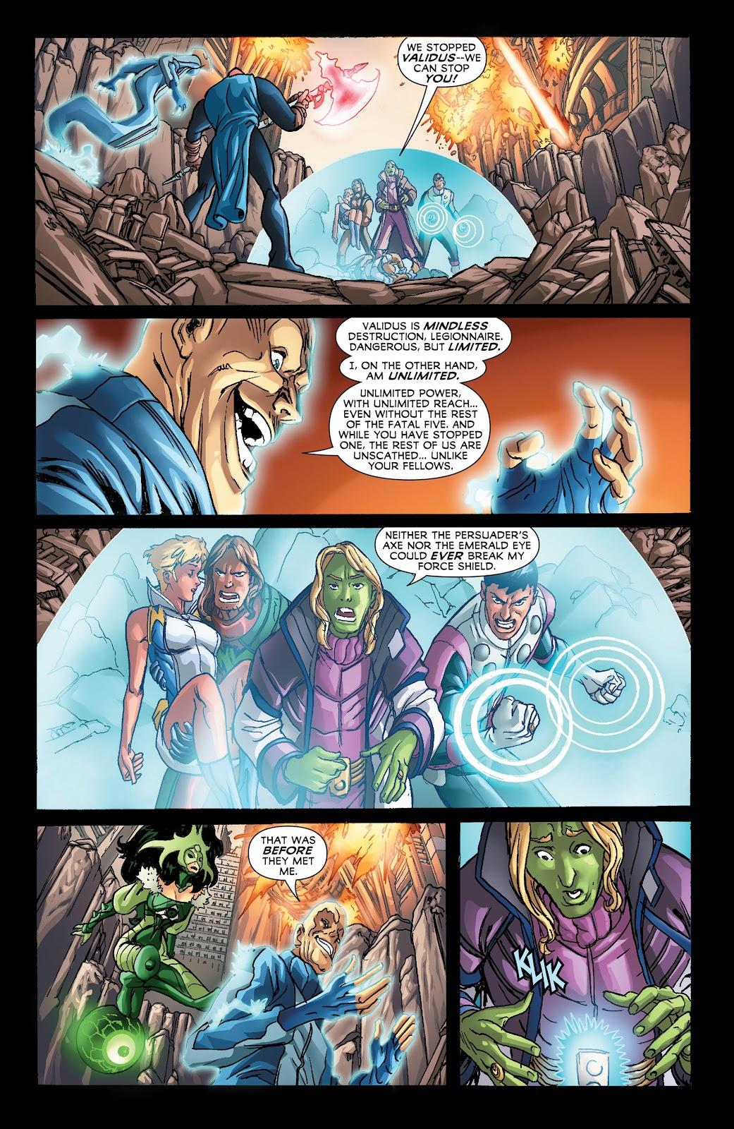 Legion of Super-Heroes (2011) Issue #21 #22 - English 20