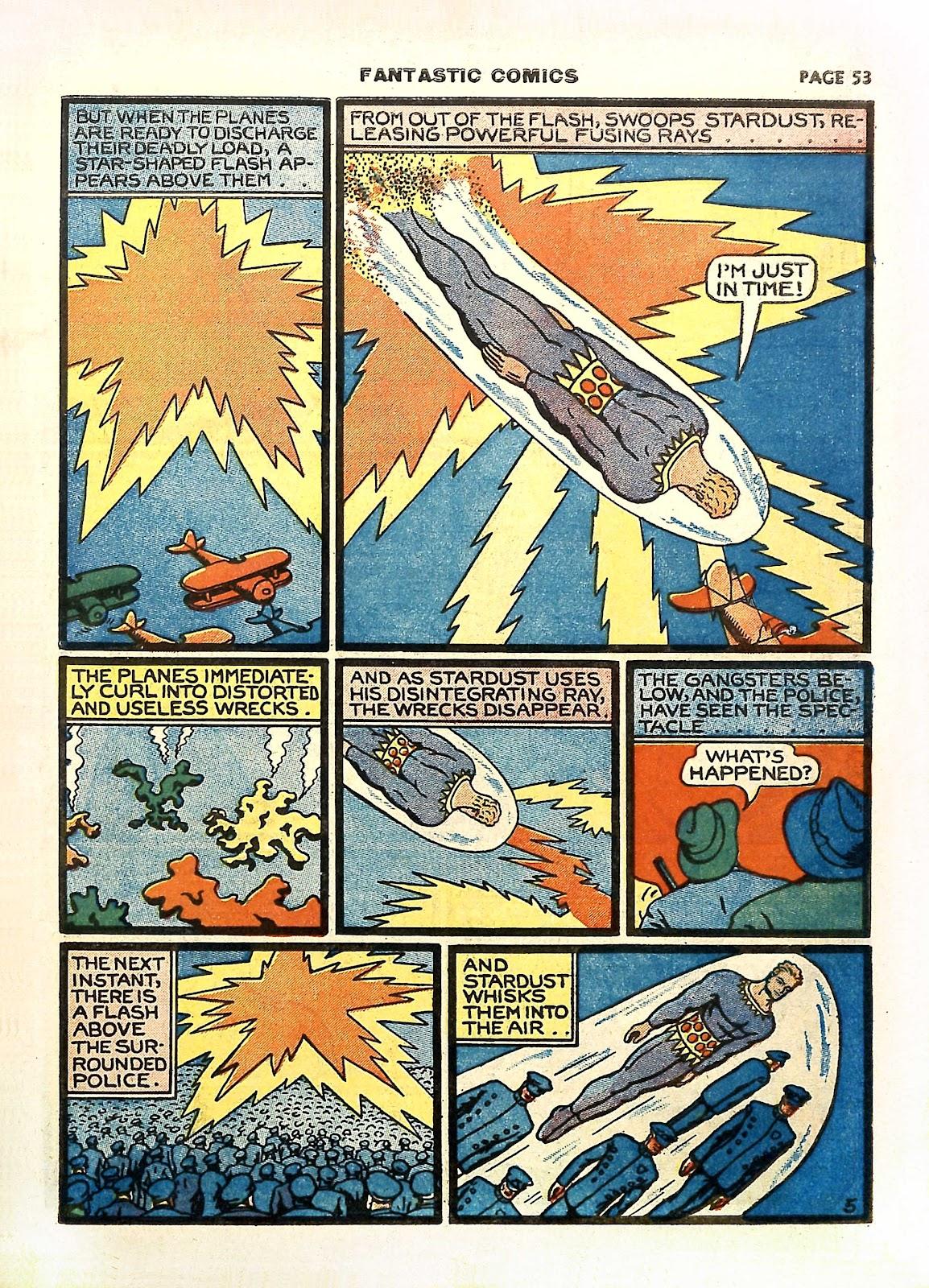 Read online Fantastic Comics comic -  Issue #11 - 56