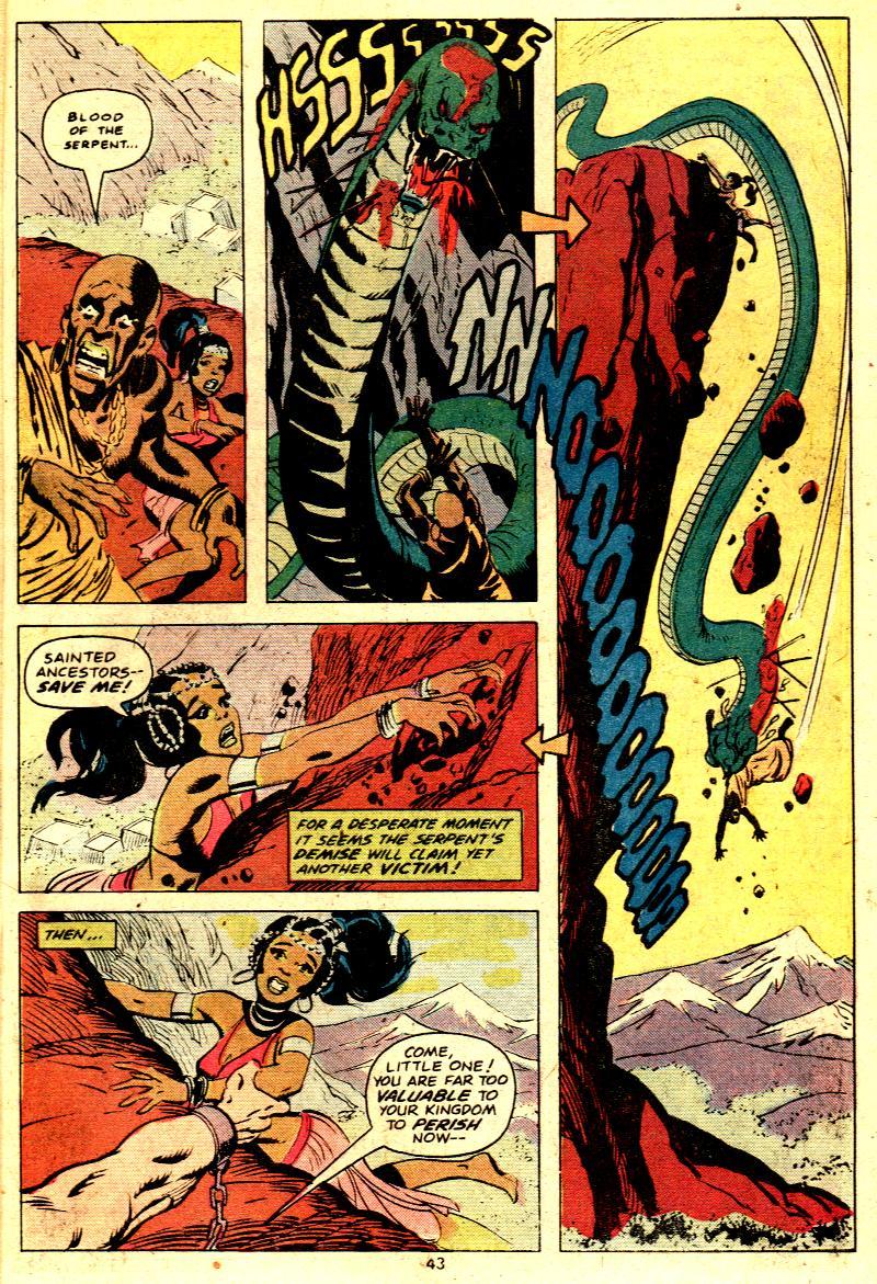 Read online Tarzan (1977) comic -  Issue # _Annual 2 - 33
