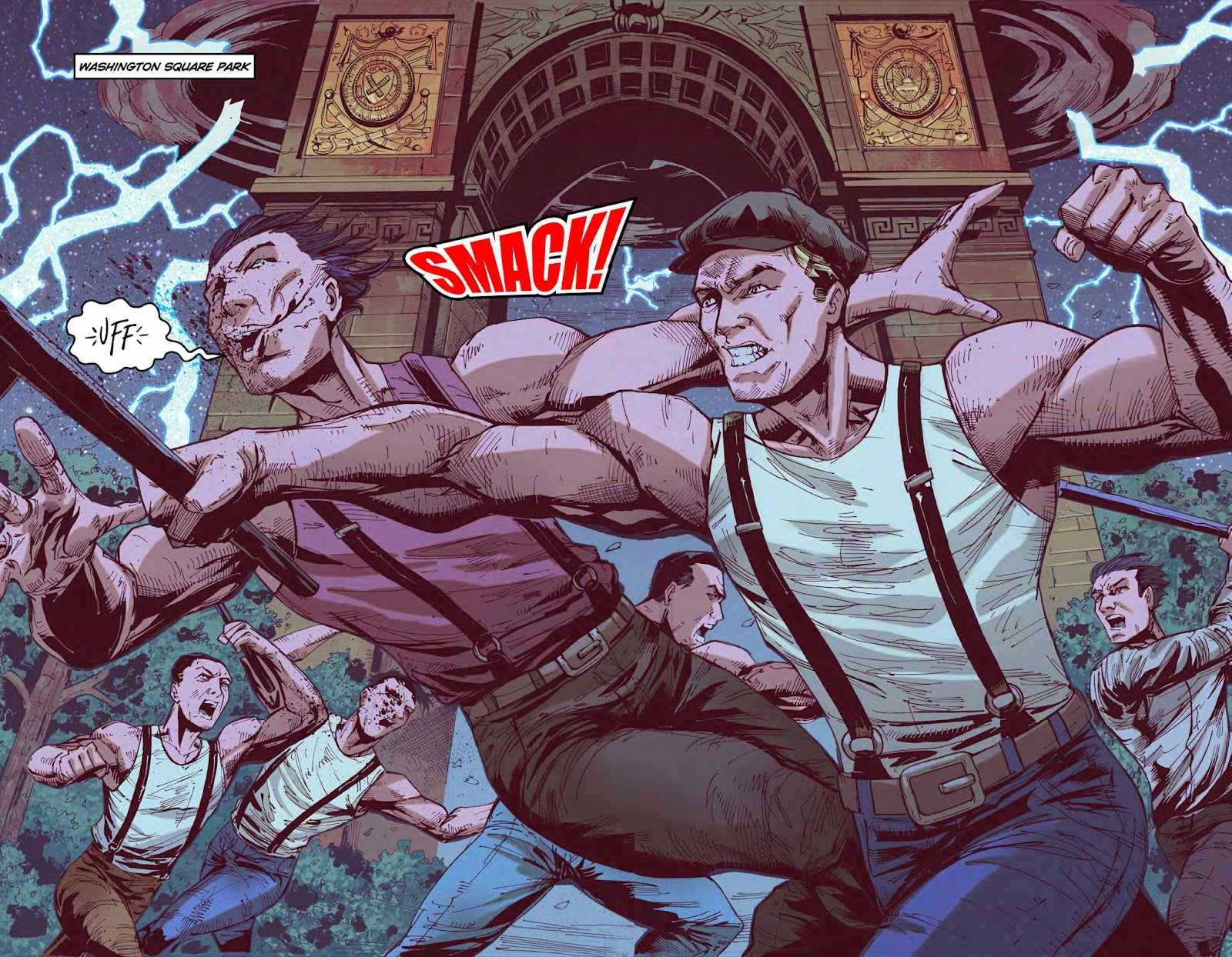 Read online American Dreams comic -  Issue #1 - 16