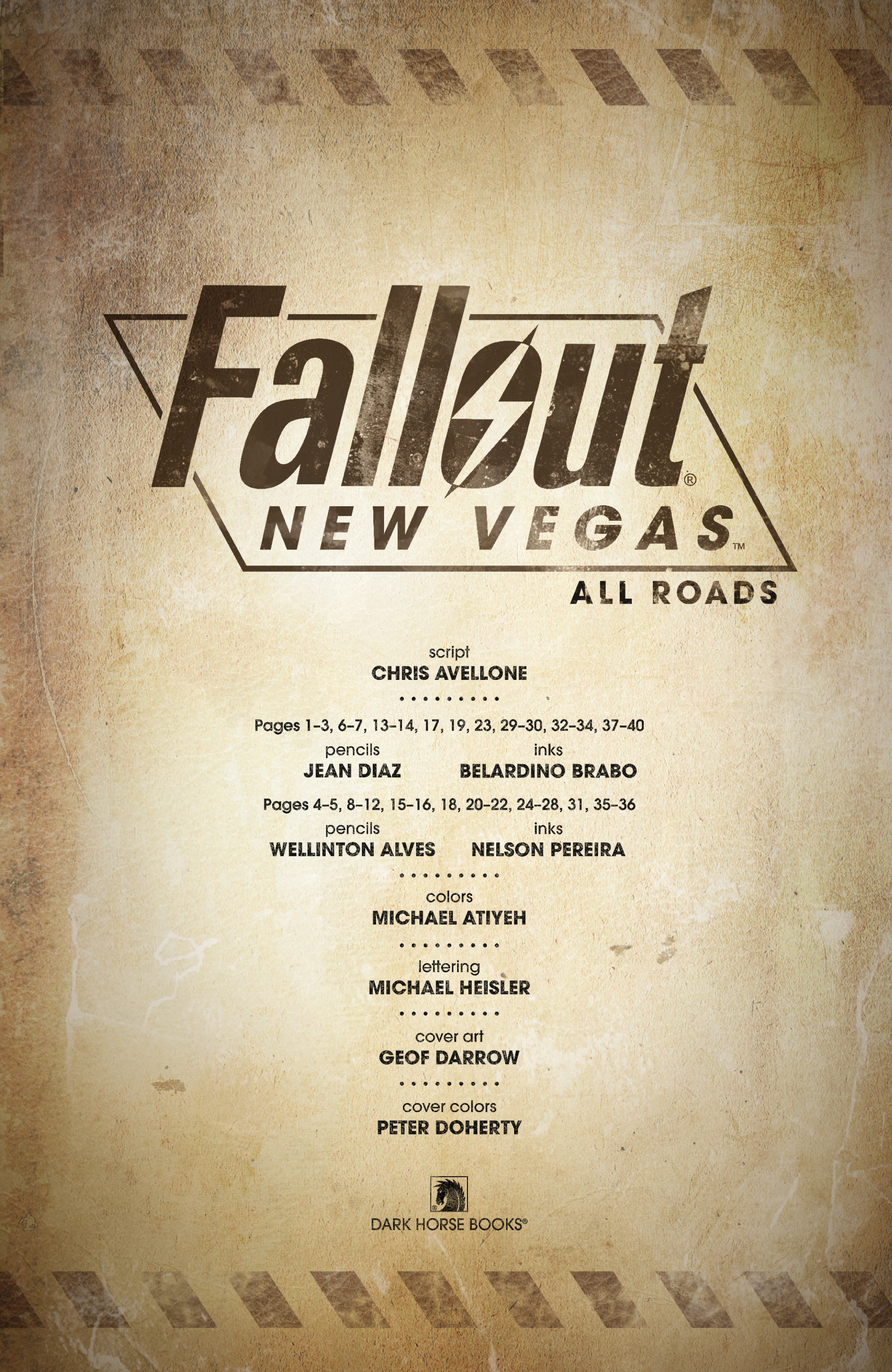 Read online Fallout: New Vegas-All Roads comic -  Issue # Full - 5