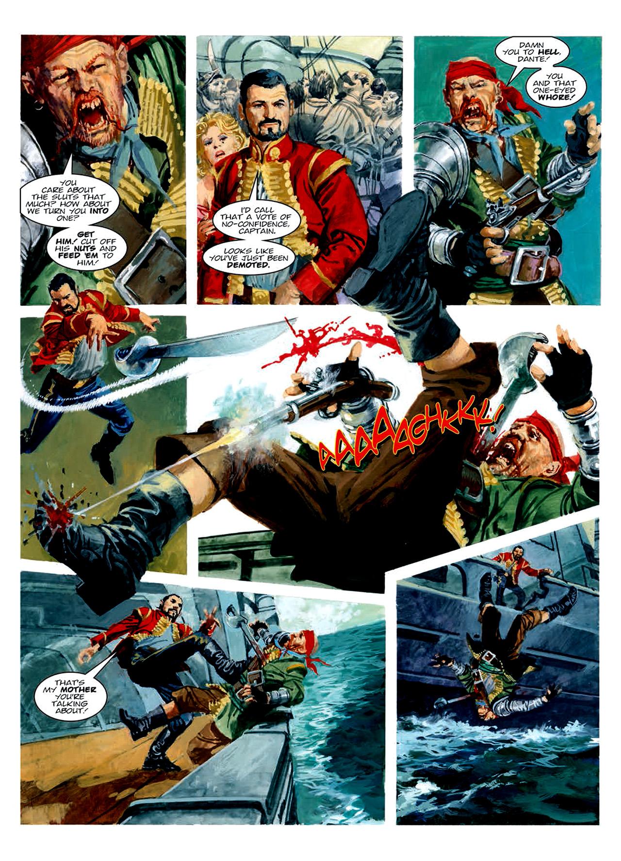 Read online Nikolai Dante comic -  Issue # TPB 6 - 148
