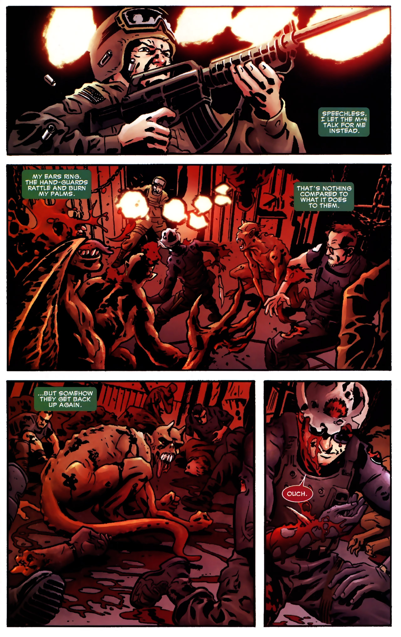 Read online Dead of Night Featuring Devil-Slayer comic -  Issue #2 - 4