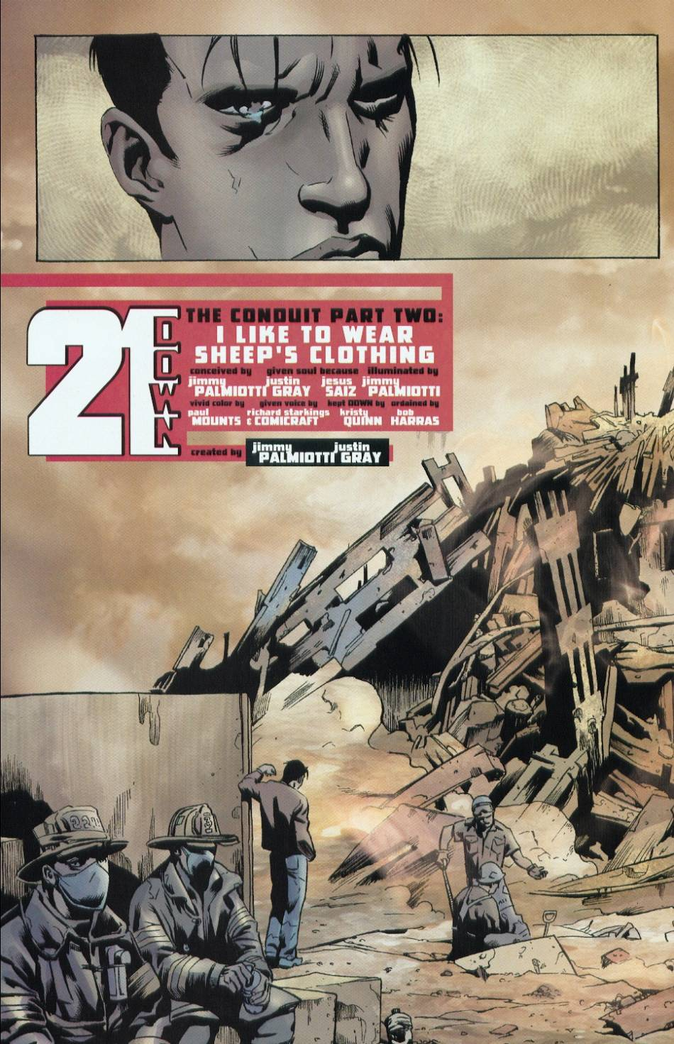 Read online 21 Down comic -  Issue #2 - 5