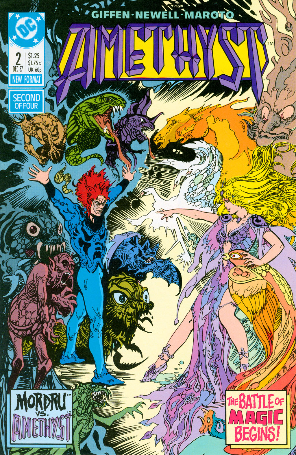 Read online Amethyst (1987) comic -  Issue #2 - 1