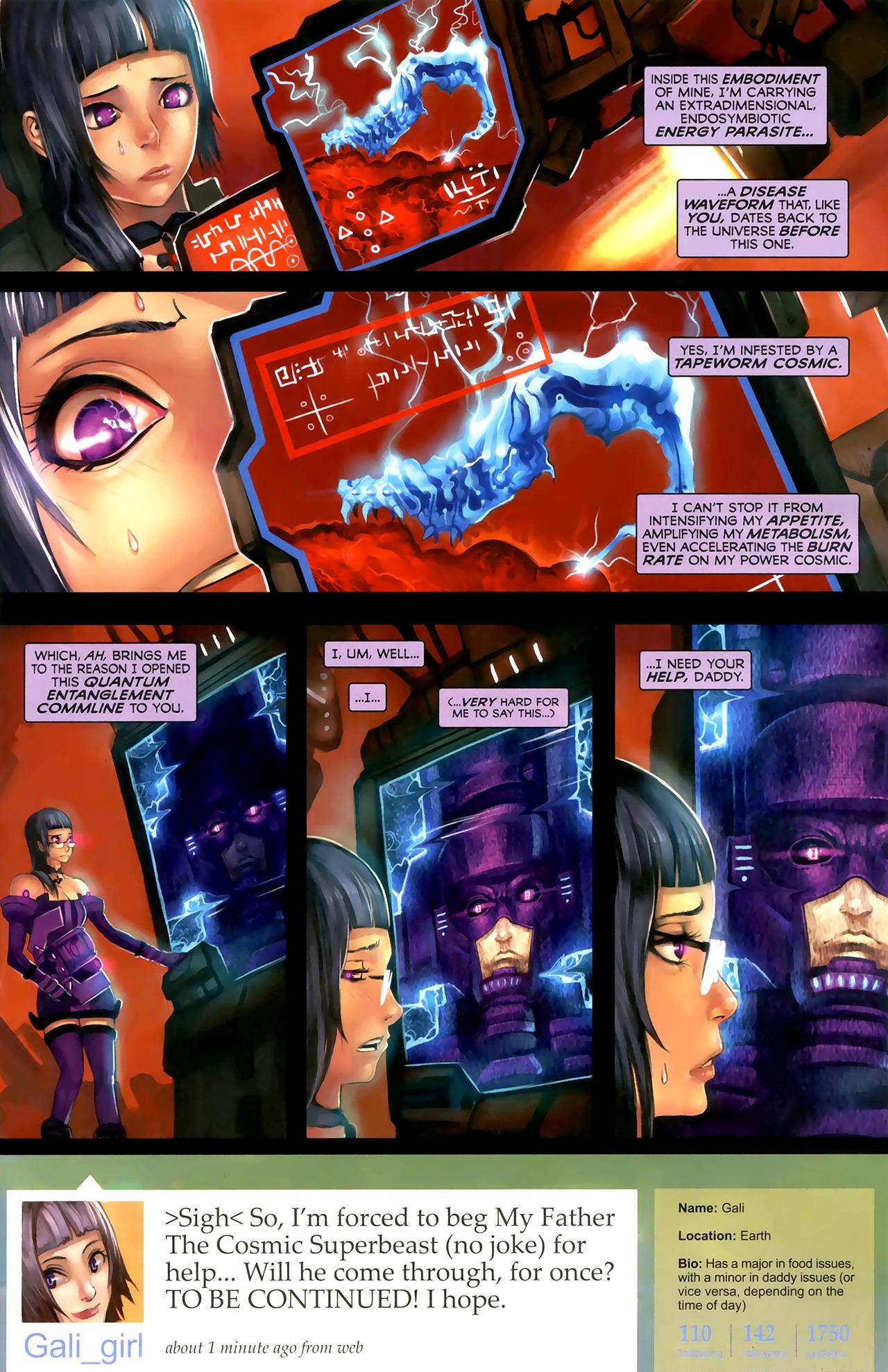 Read online Galacta: Daughter of Galactus comic -  Issue # Full - 10