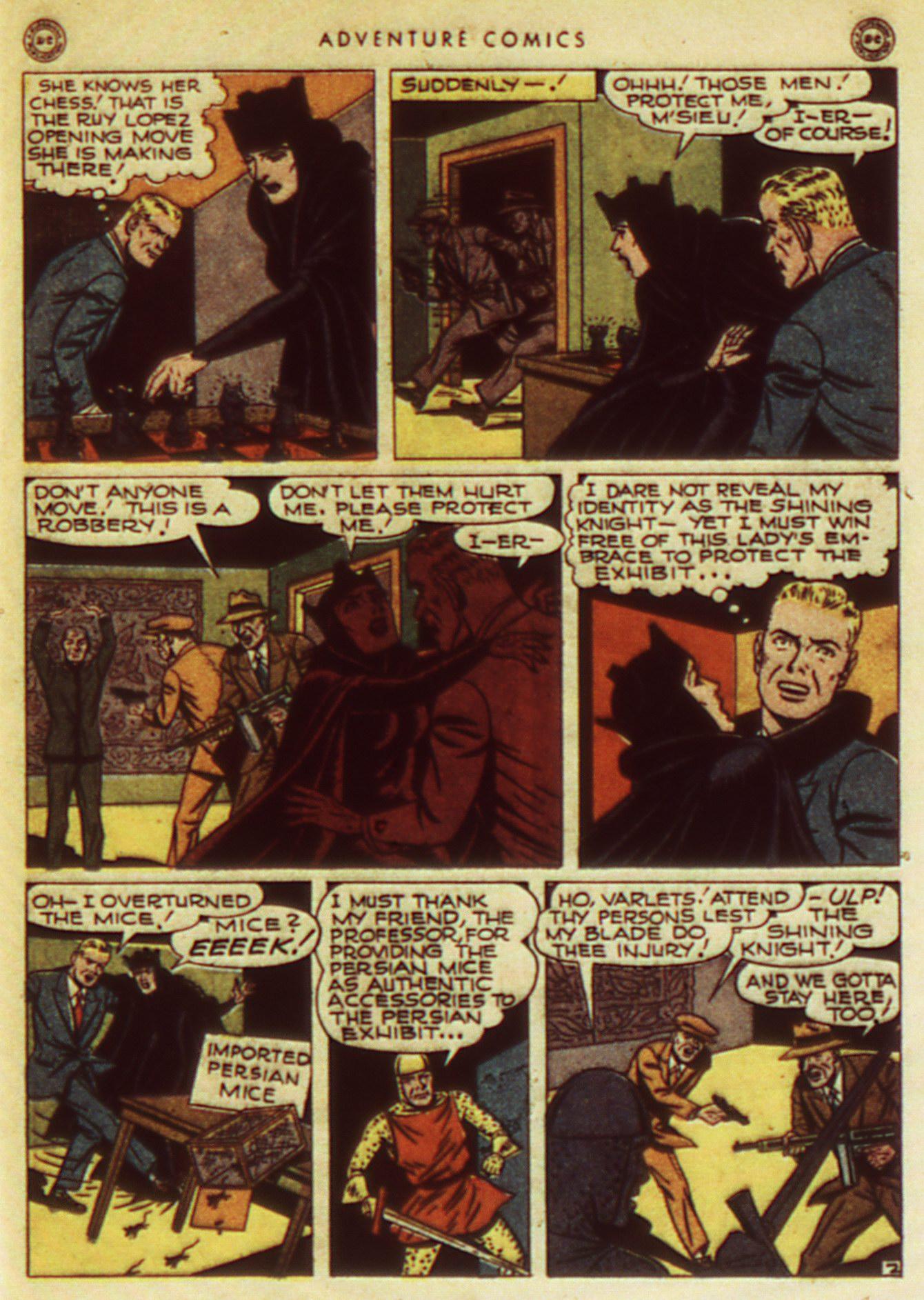 Read online Adventure Comics (1938) comic -  Issue #105 - 43