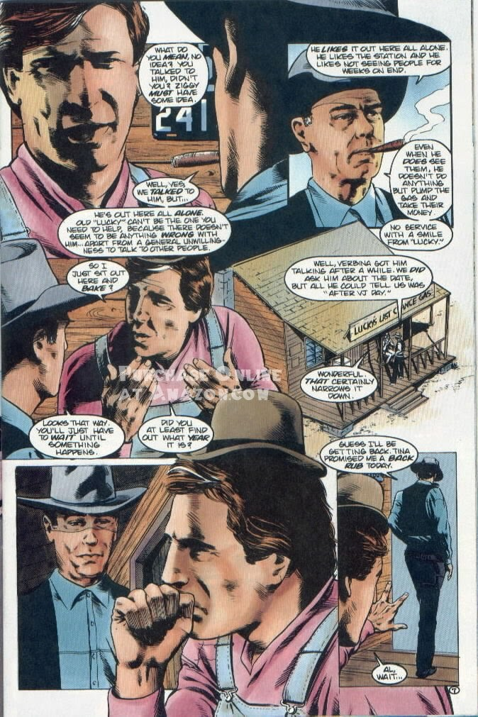 Read online Quantum Leap comic -  Issue #12 - 8