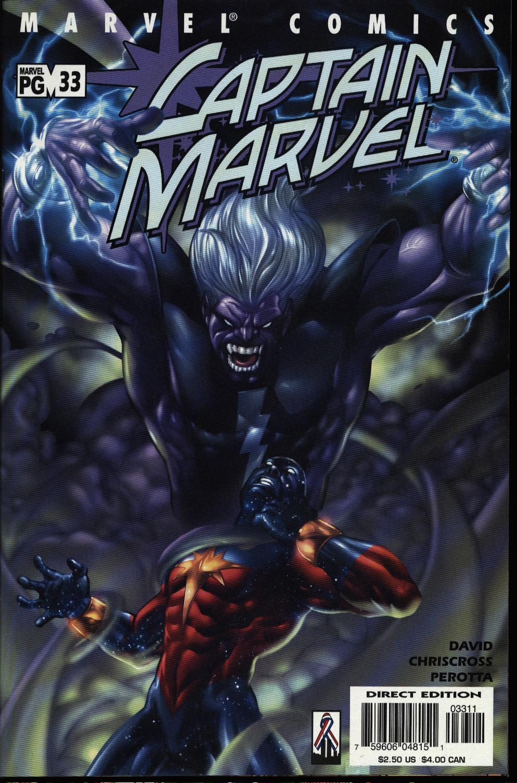Captain Marvel (1999) Issue #33 #34 - English 1