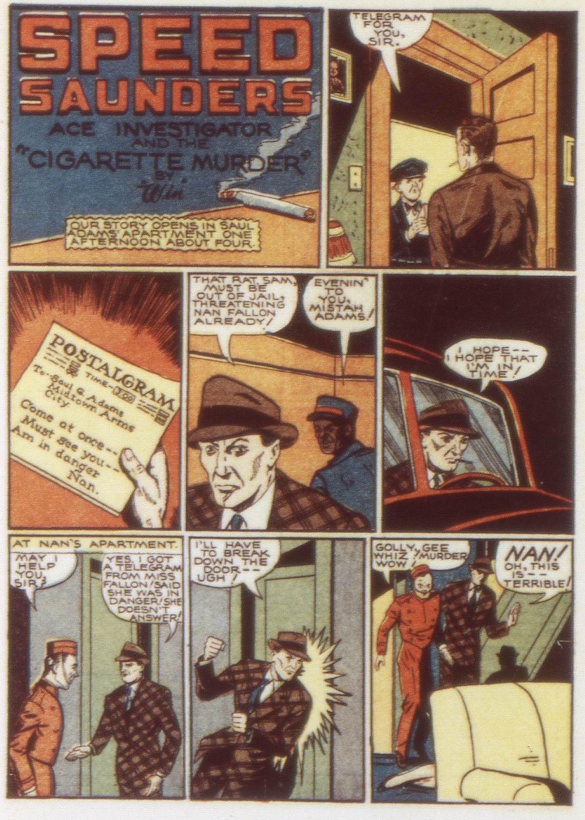 Read online Detective Comics (1937) comic -  Issue #58 - 38