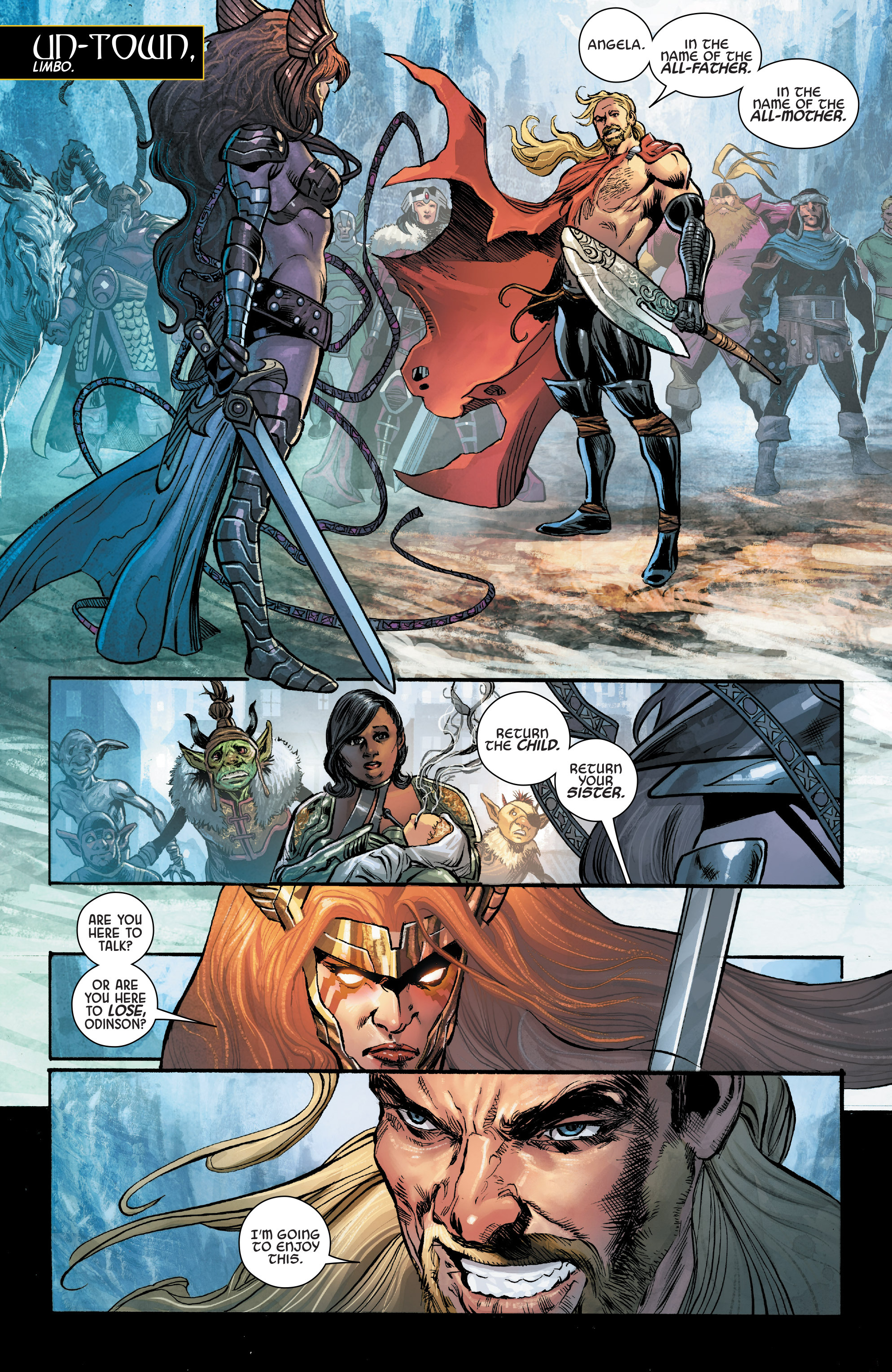 Read online Angela: Asgard's Assassin comic -  Issue #2 - 3