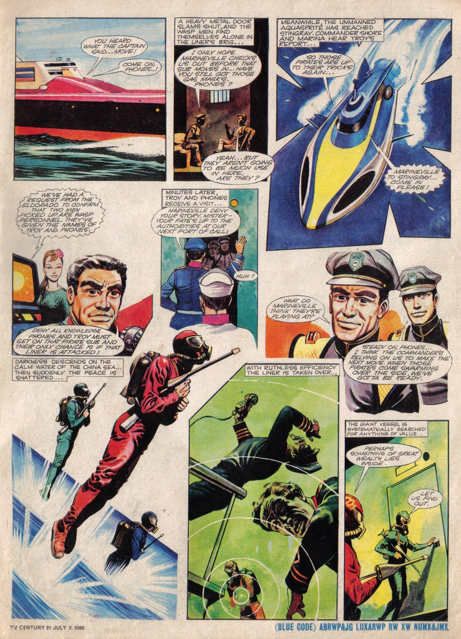 Read online TV Century 21 (TV 21) comic -  Issue #76 - 5