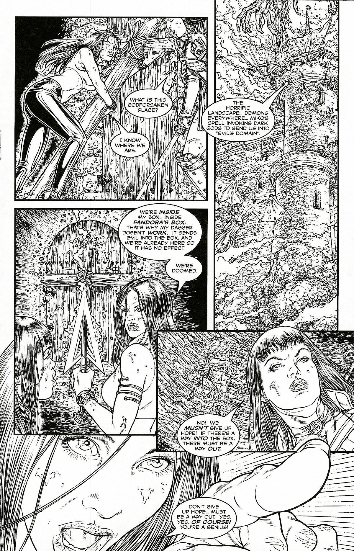 Read online Shi: Pandora's Box comic -  Issue #1 - 19