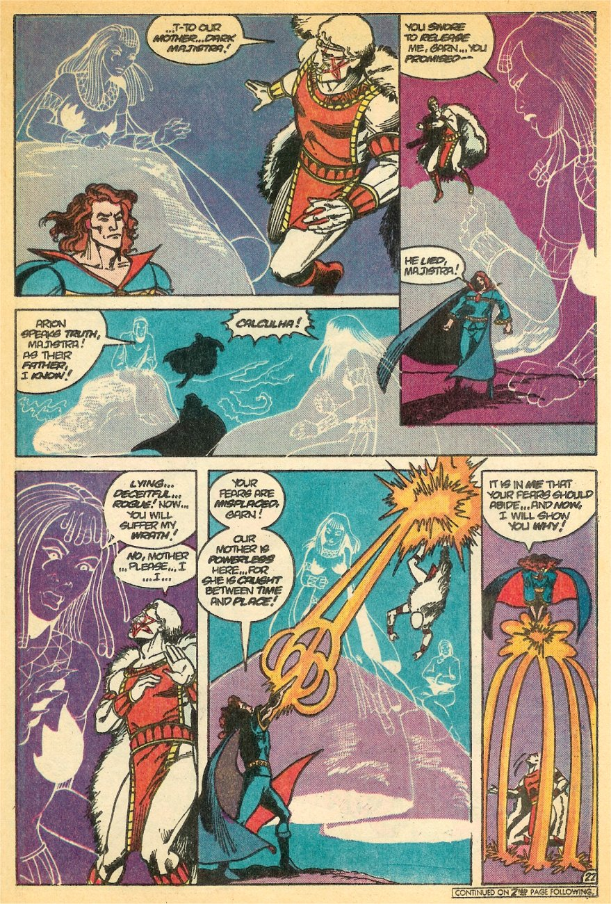 Read online Arion, Lord of Atlantis comic -  Issue #24 - 23