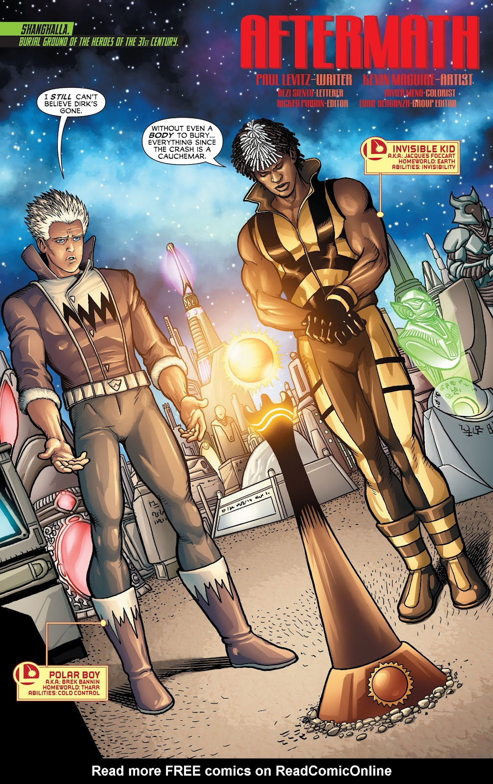 Legion of Super-Heroes (2011) Issue #23 #24 - English 2