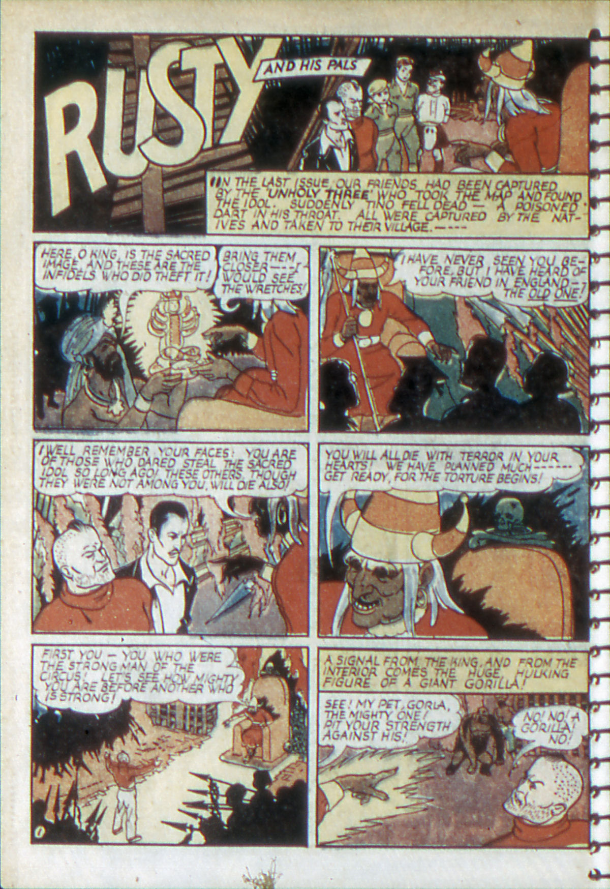 Read online Adventure Comics (1938) comic -  Issue #52 - 15