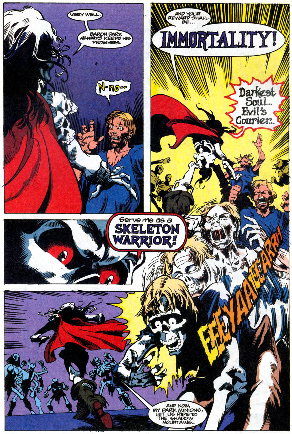 Skeleton Warriors Issue #1 #1 - English 5