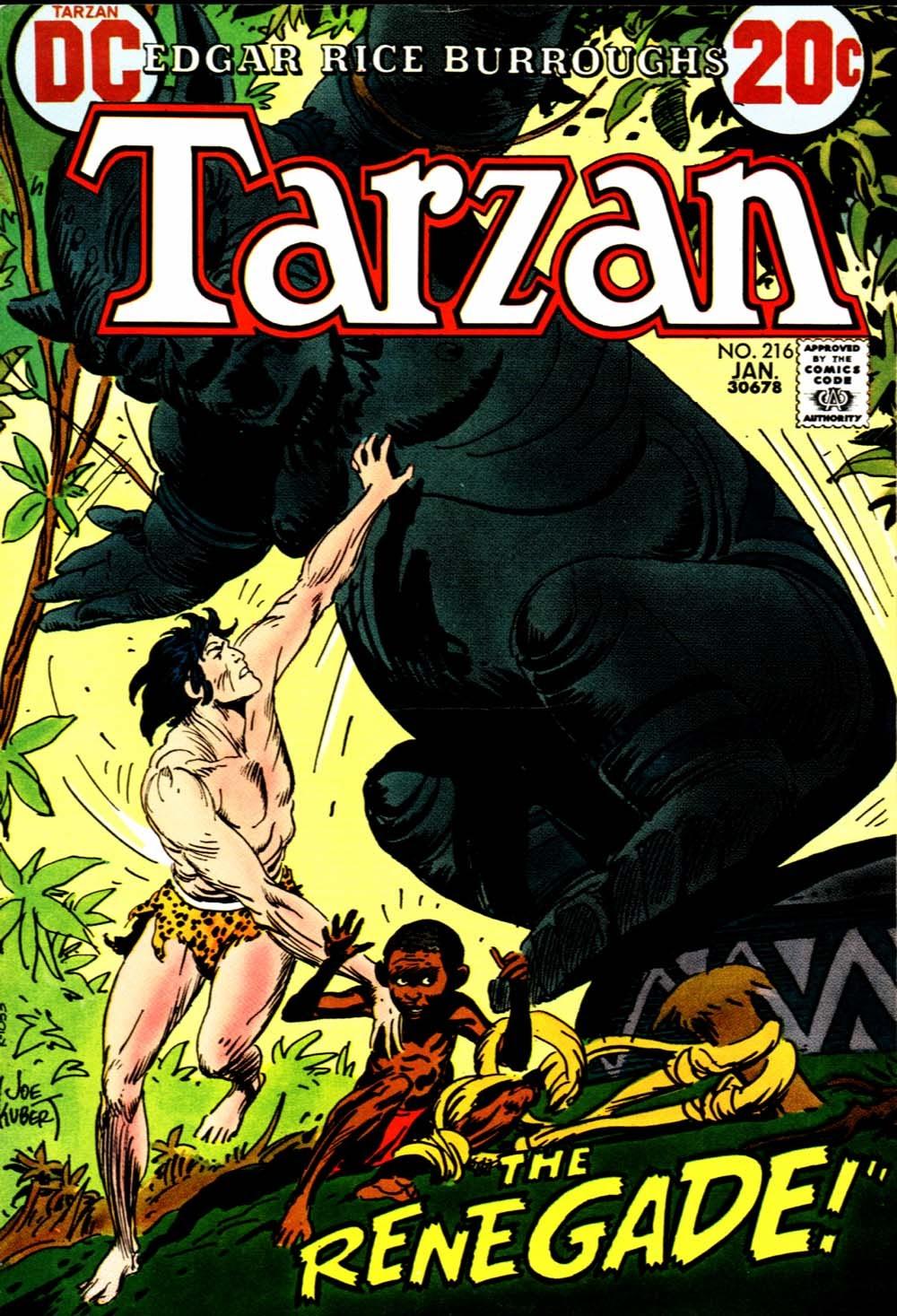 Tarzan (1972) issue 216 - Page 1