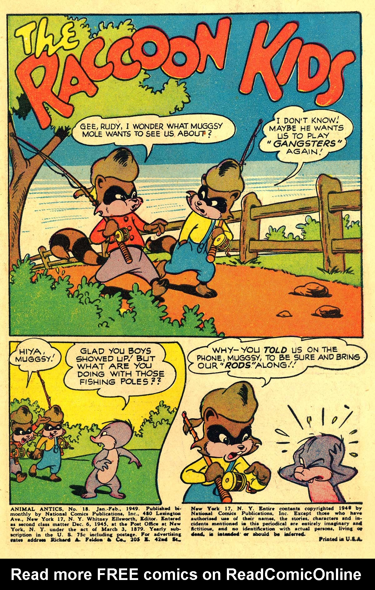 Read online Animal Antics comic -  Issue #18 - 3