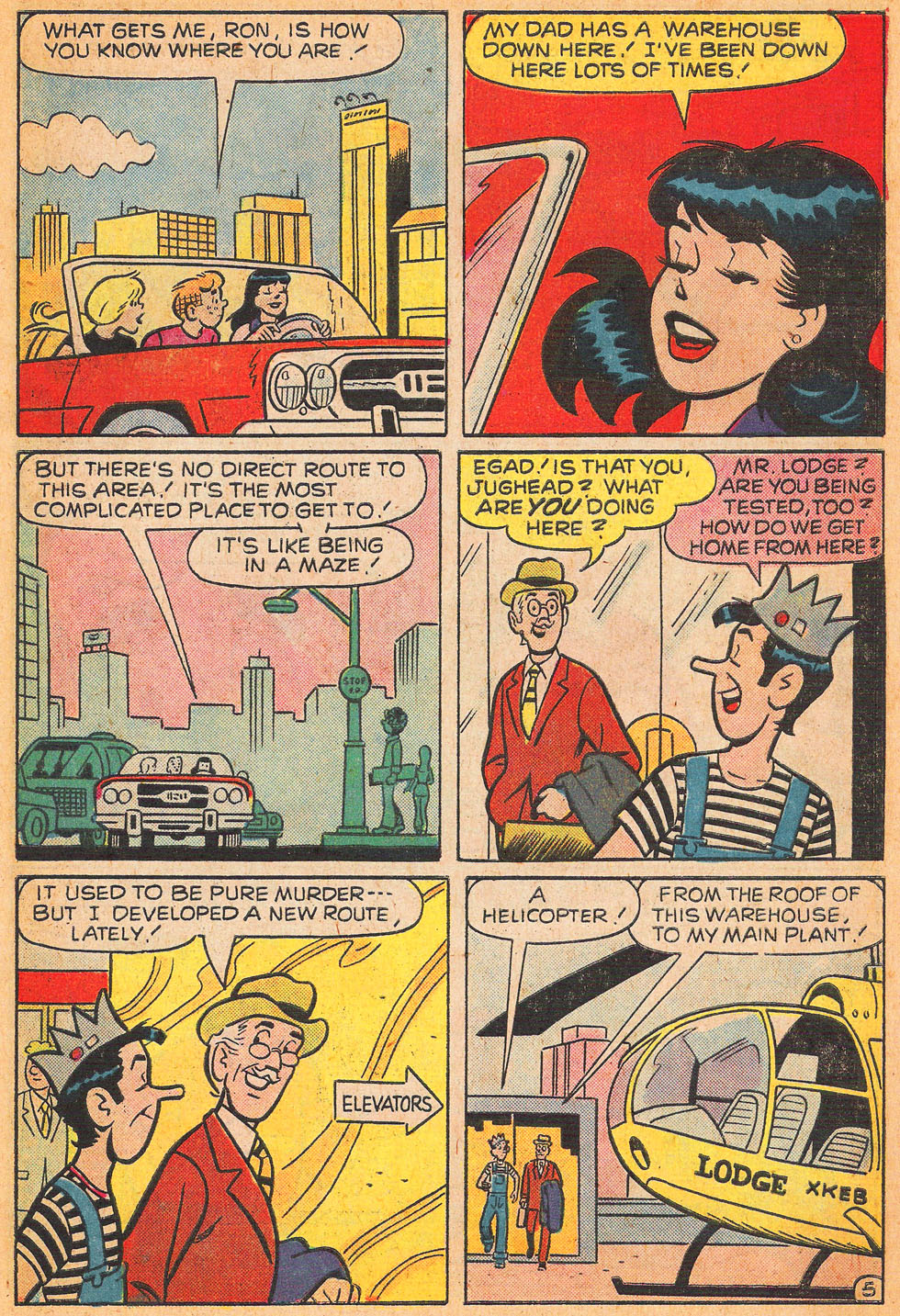 Read online Archie's Girls Betty and Veronica comic -  Issue #240 - 7
