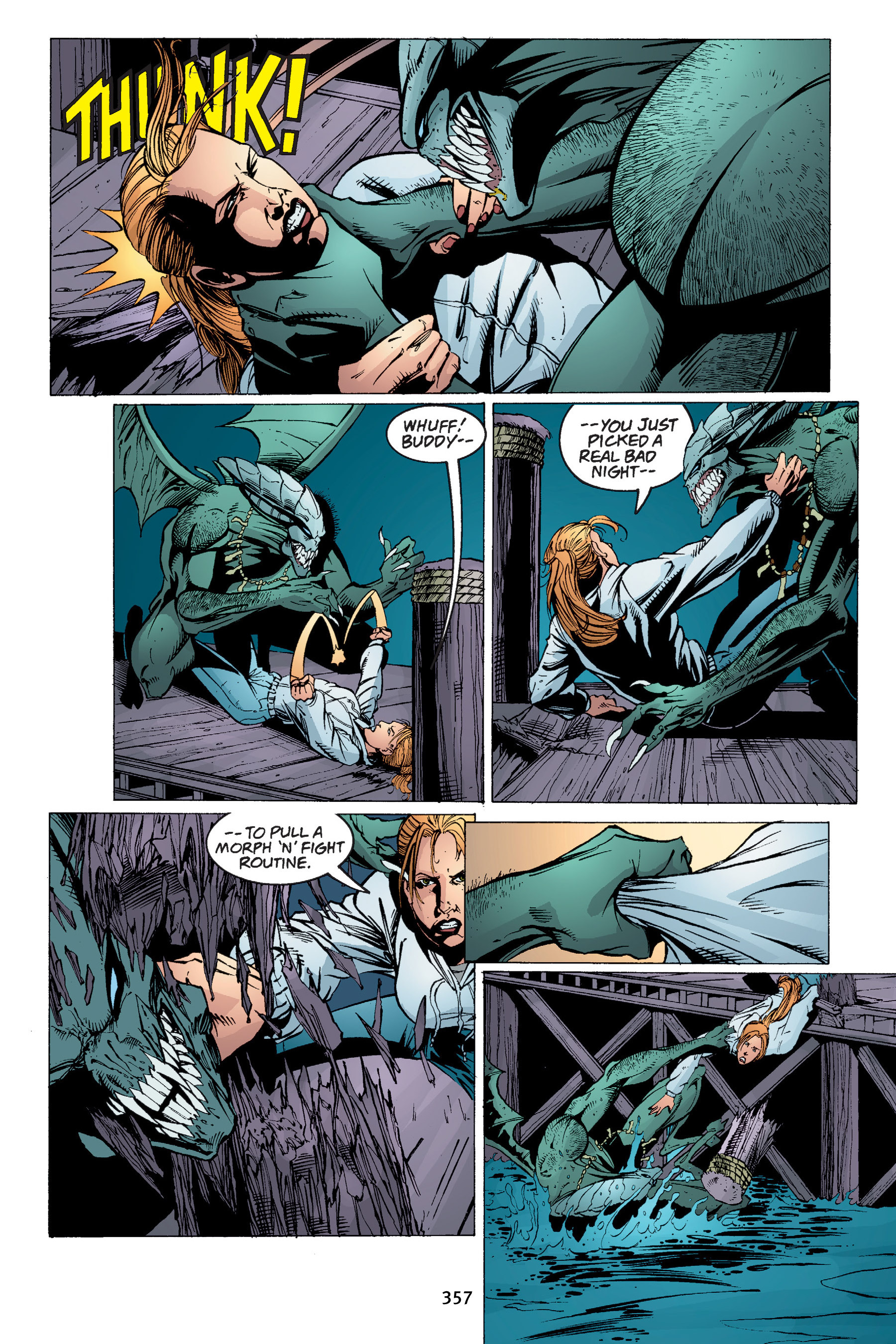 Read online Buffy the Vampire Slayer: Omnibus comic -  Issue # TPB 4 - 353