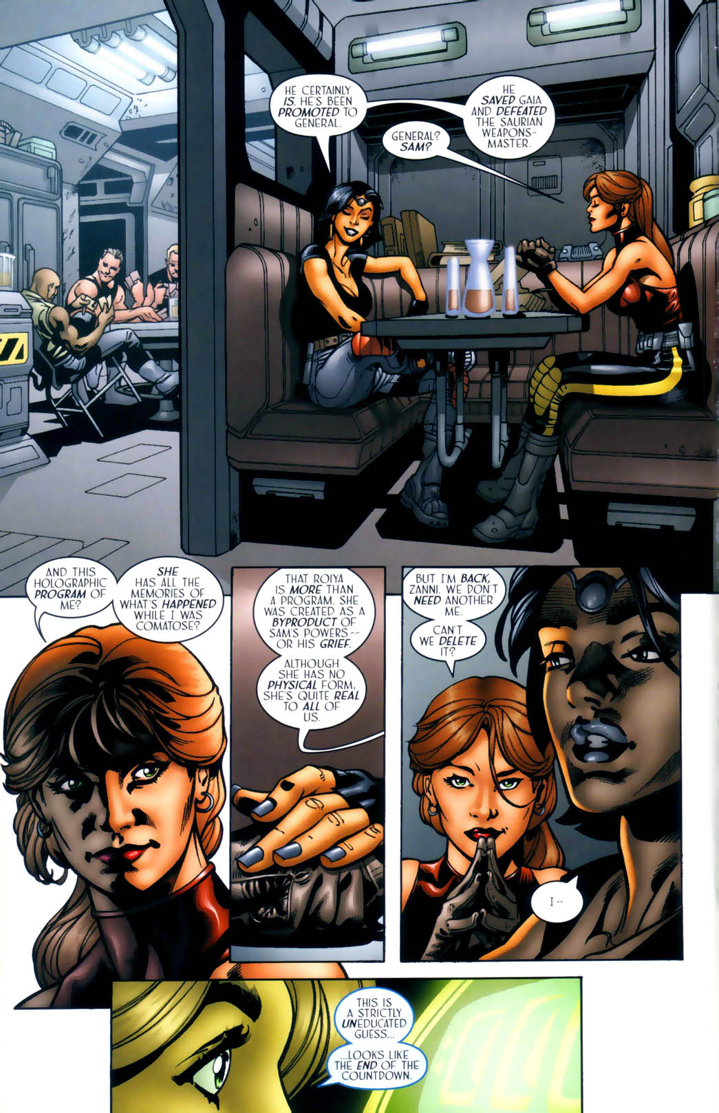 Read online Sigil (2000) comic -  Issue #30 - 17