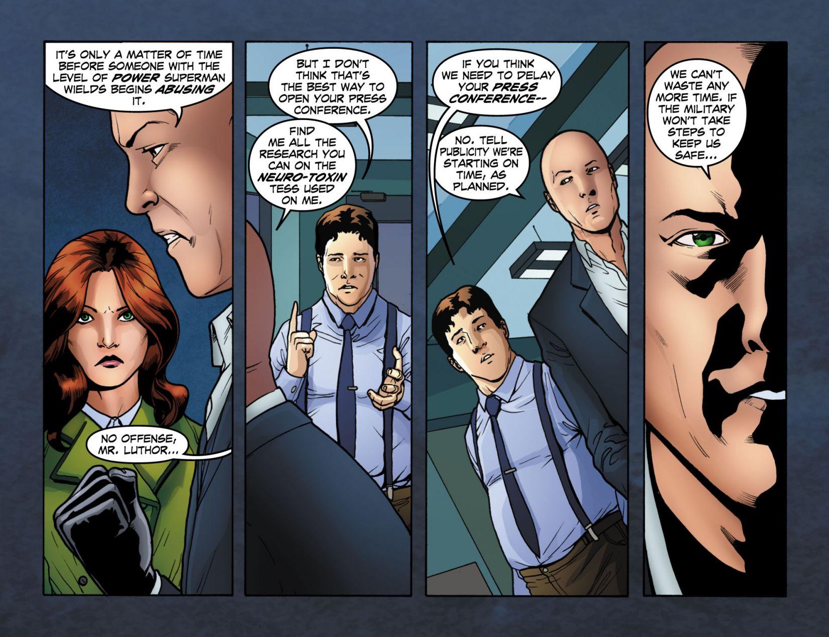 Read online Smallville: Season 11 comic -  Issue #4 - 8