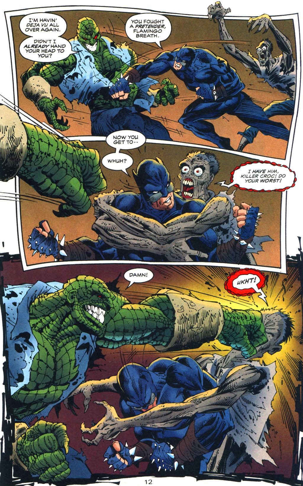 Read online Batman/Wildcat comic -  Issue #3 - 12