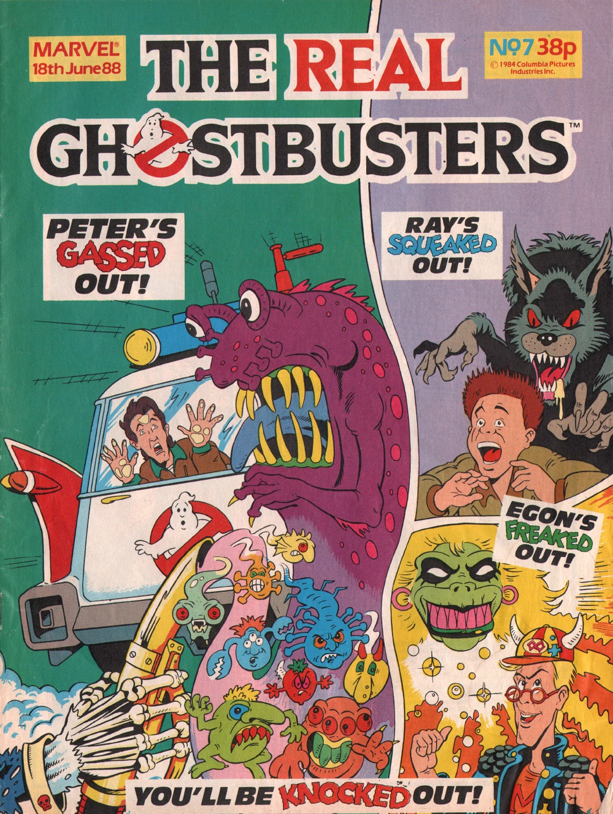 The Real Ghostbusters 7 Page 1