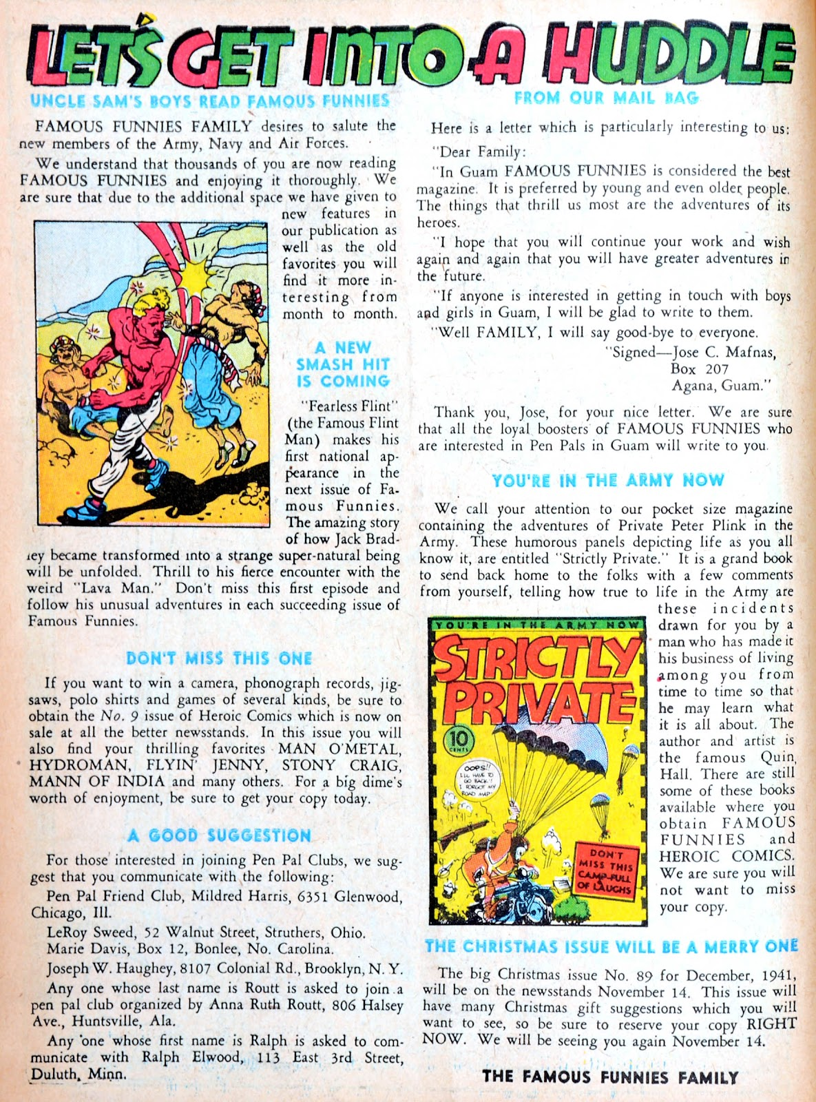 Read online Famous Funnies comic -  Issue #88 - 10