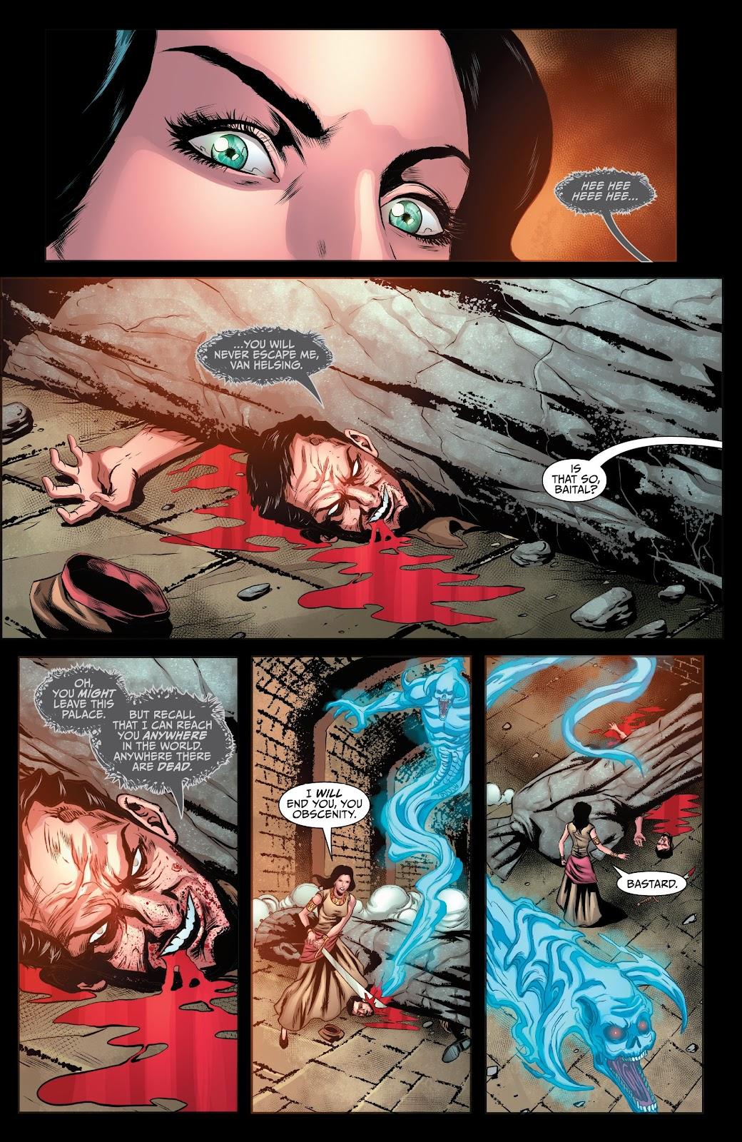 Read online Van Helsing: Sword of Heaven comic -  Issue #6 - 10