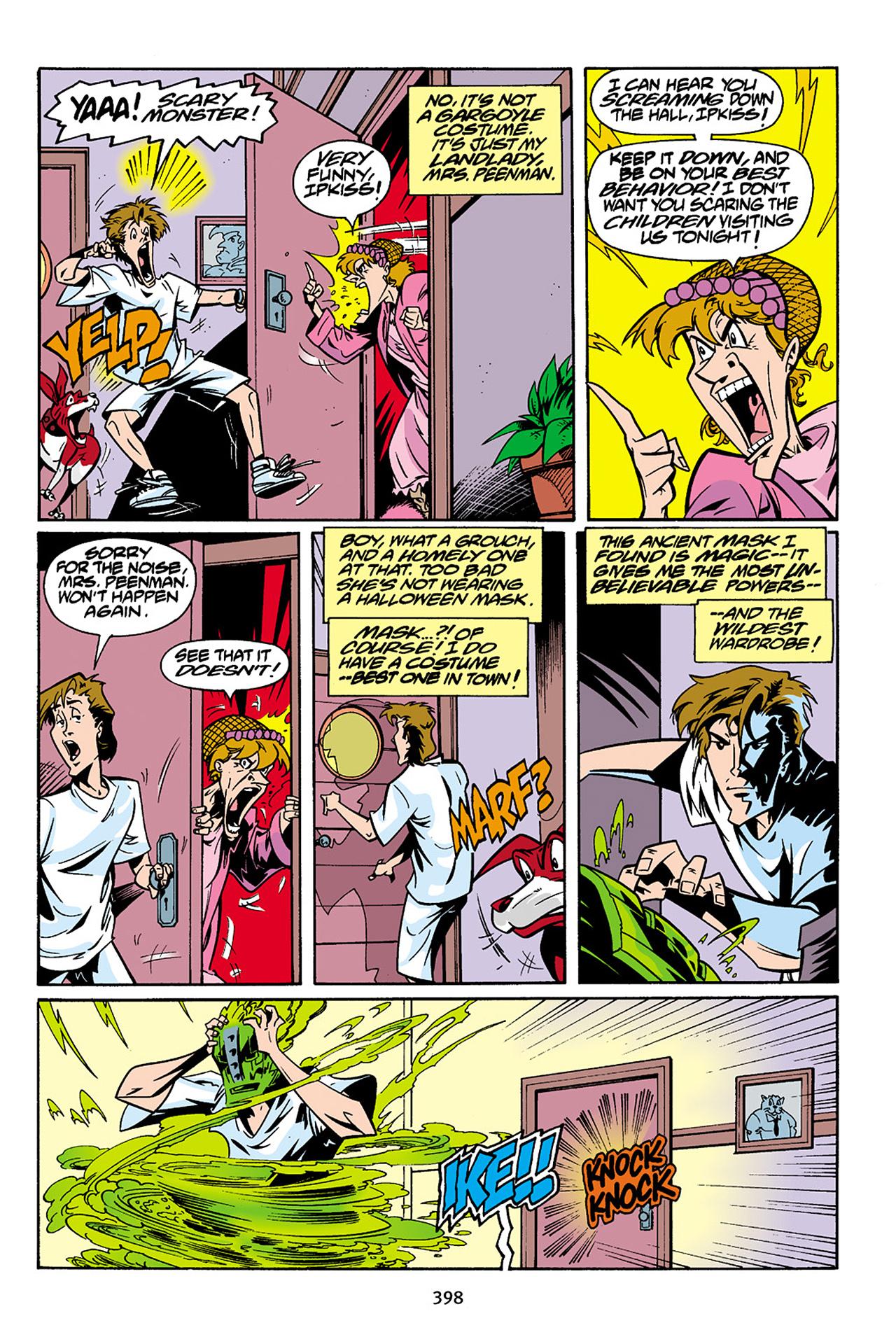 Read online Adventures Of The Mask Omnibus comic -  Issue #Adventures Of The Mask Omnibus Full - 397