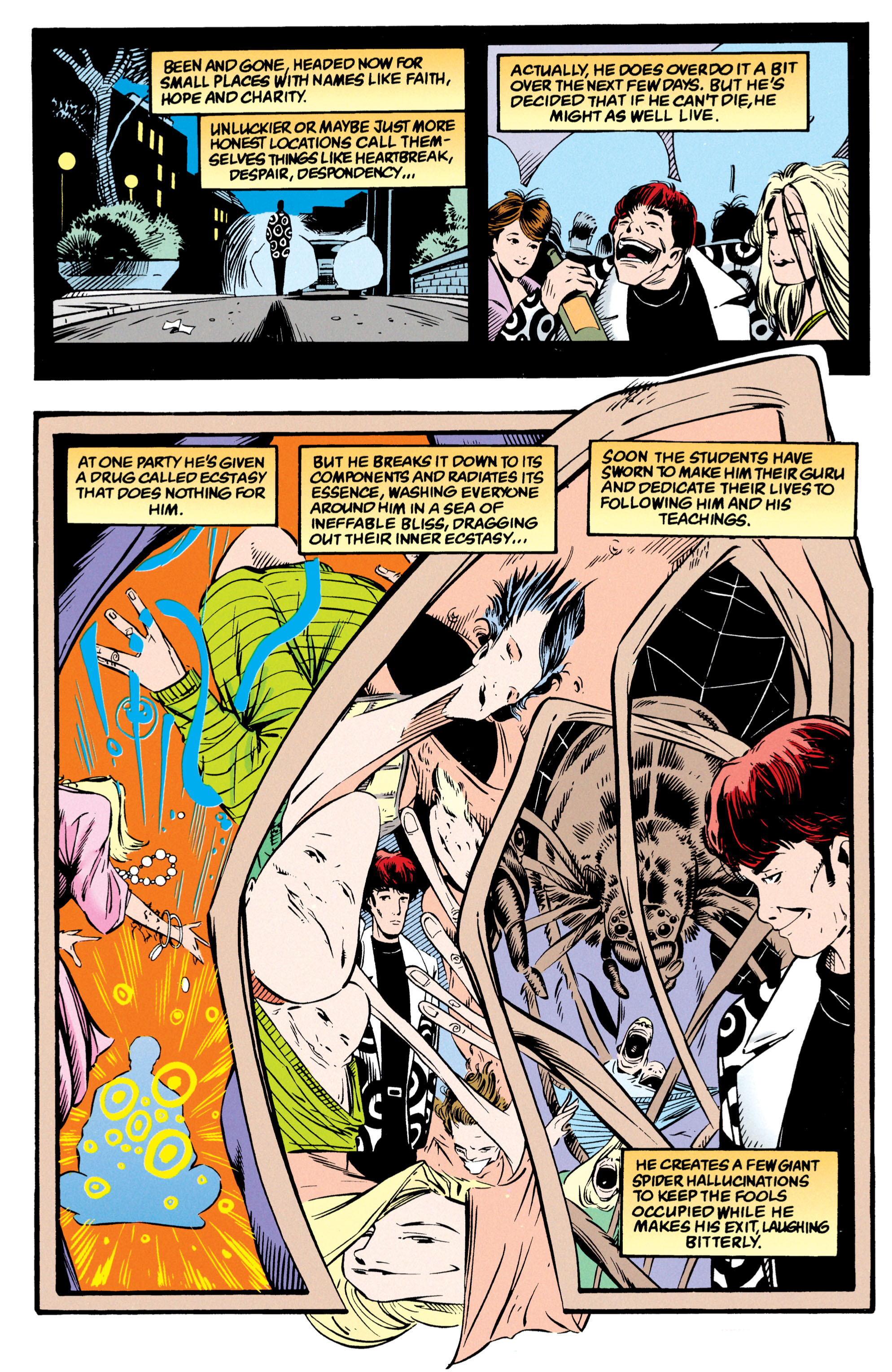 Read online Shade, the Changing Man comic -  Issue #54 - 4