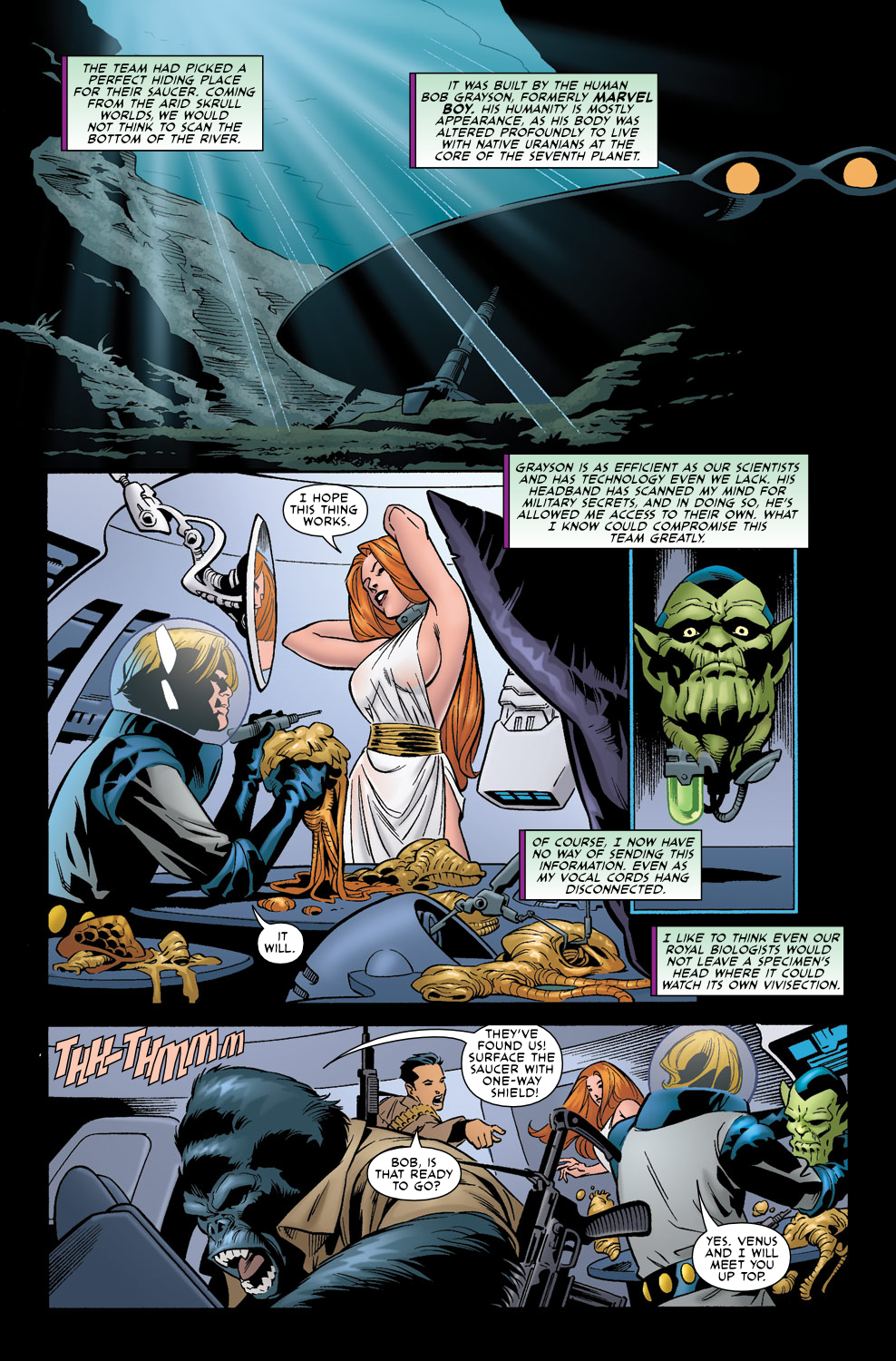 Read online Agents Of Atlas (2009) comic -  Issue #0 - 6