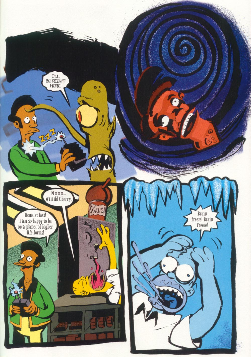 Read online Treehouse of Horror comic -  Issue #5 - 43