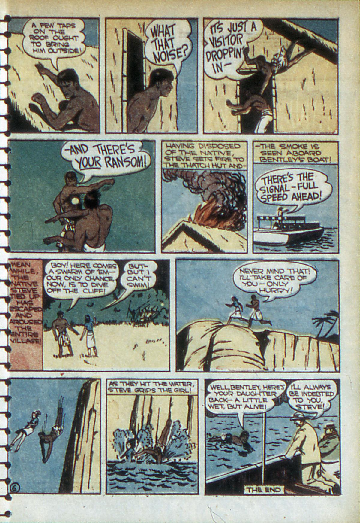 Read online Adventure Comics (1938) comic -  Issue #52 - 34